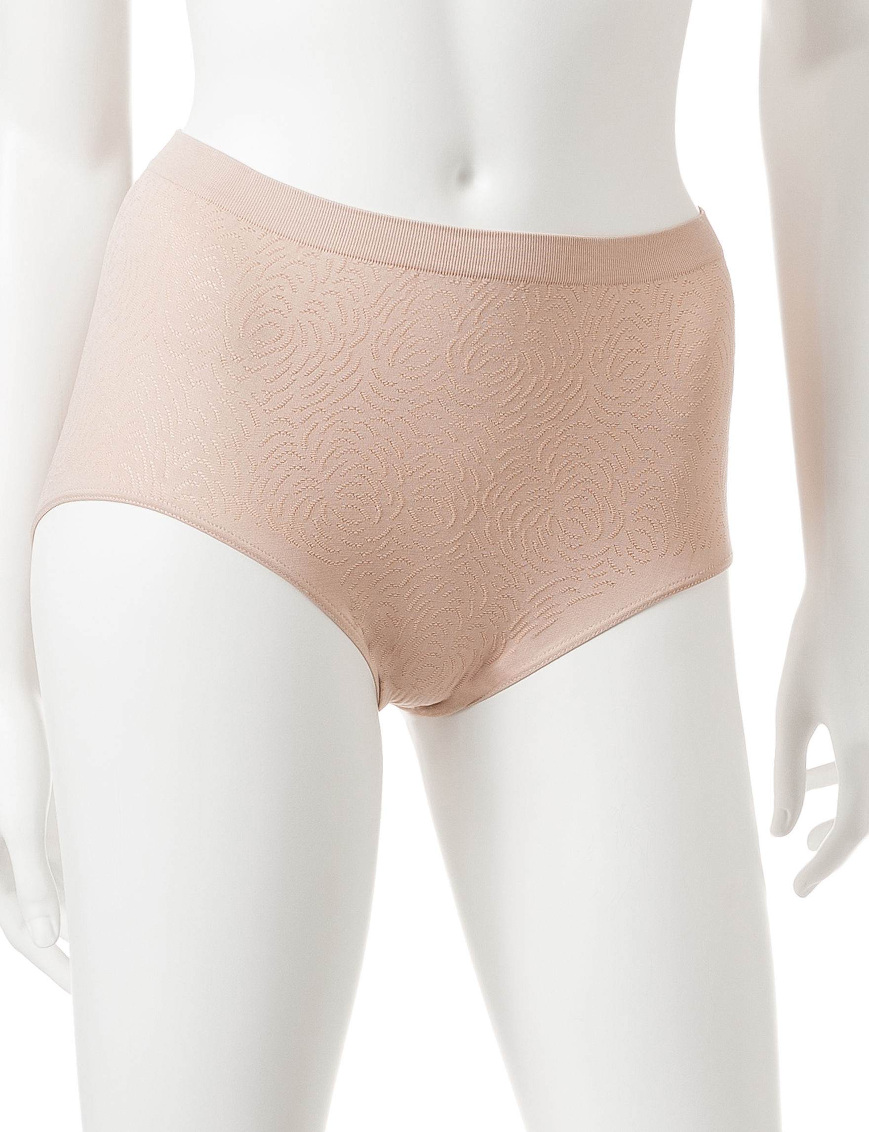 Bali Nude Panties Briefs High Waist Seamless