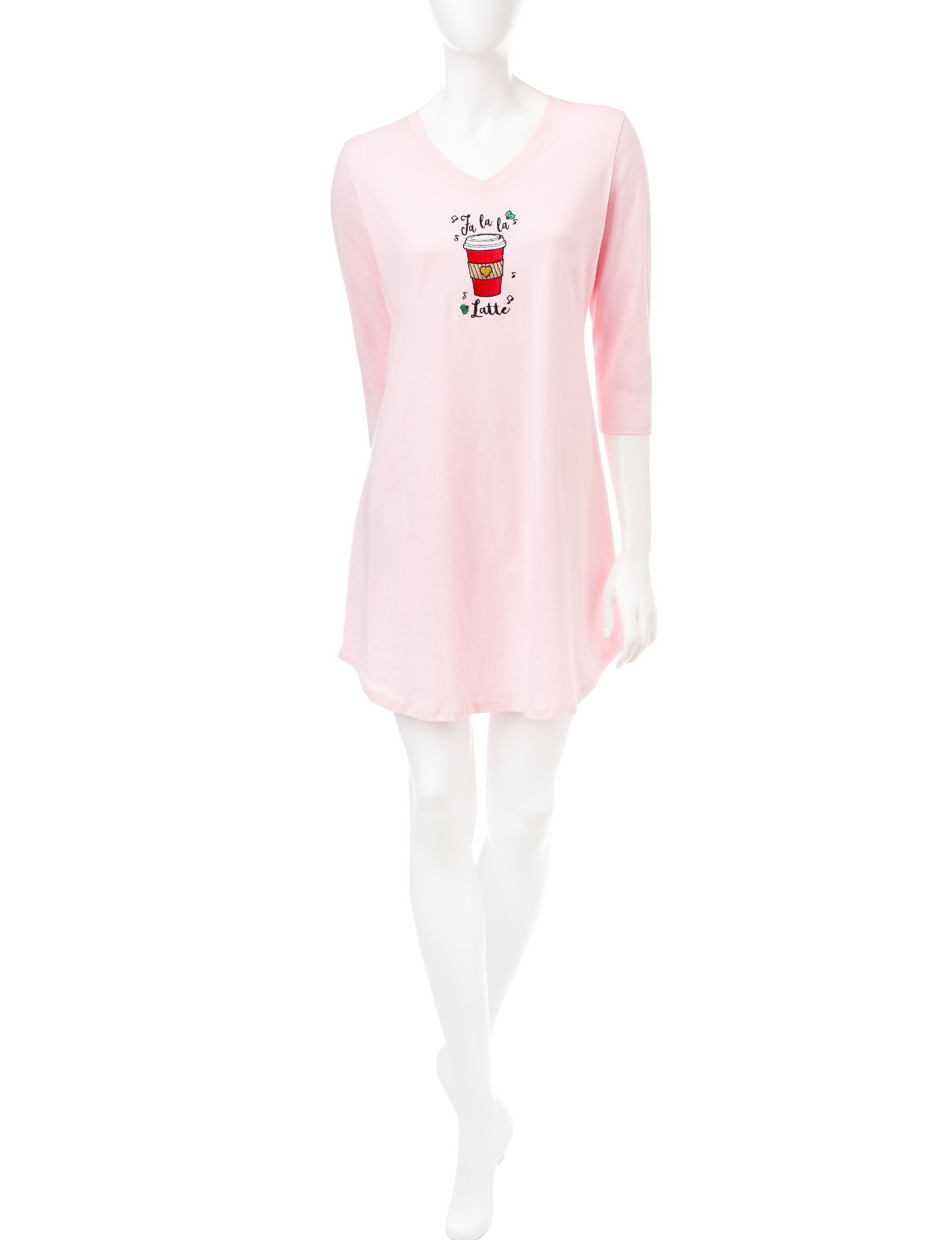 Pillow Talk Pink Nightgowns & Sleep Shirts