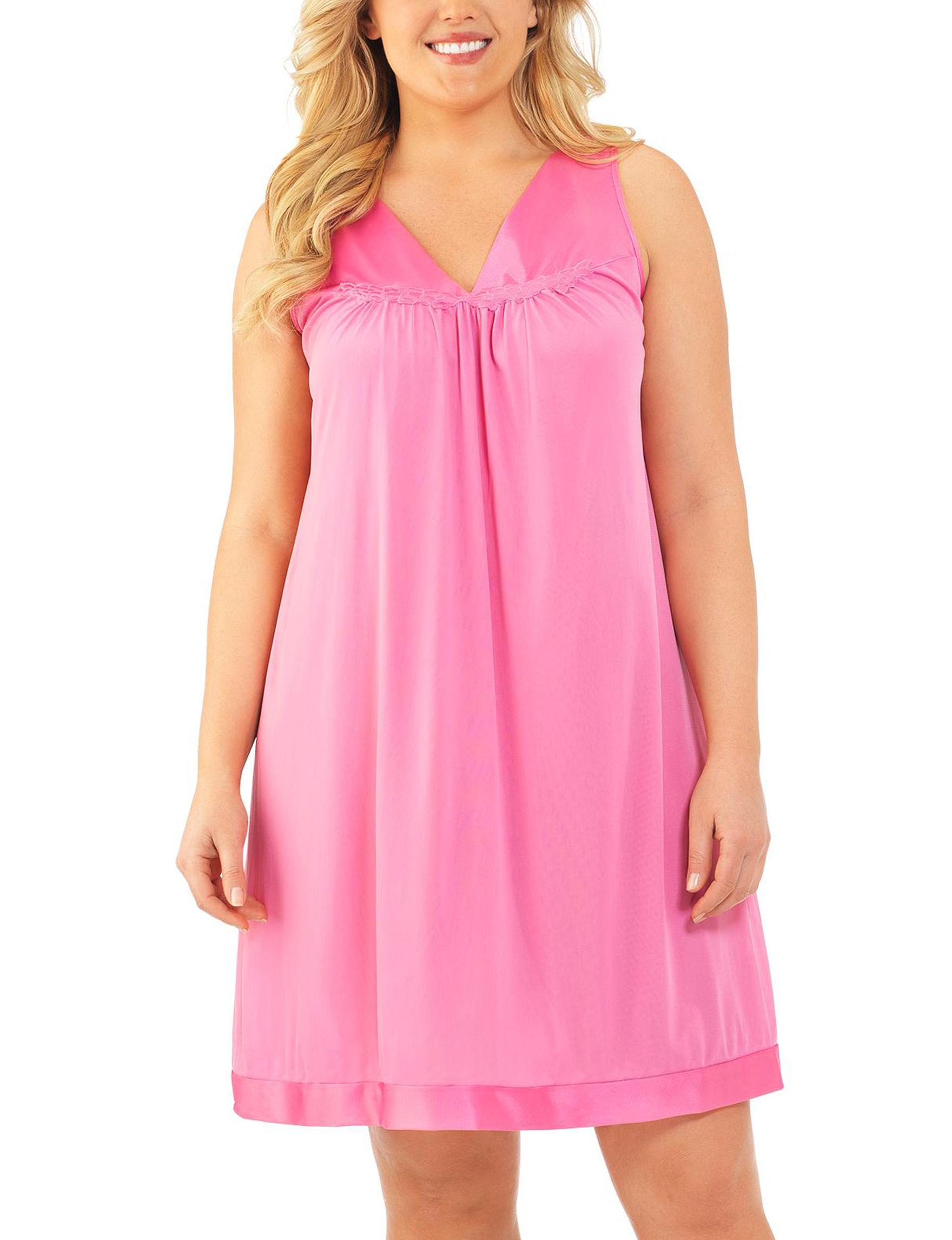 Vanity Fair Pink Nightgowns & Sleep Shirts
