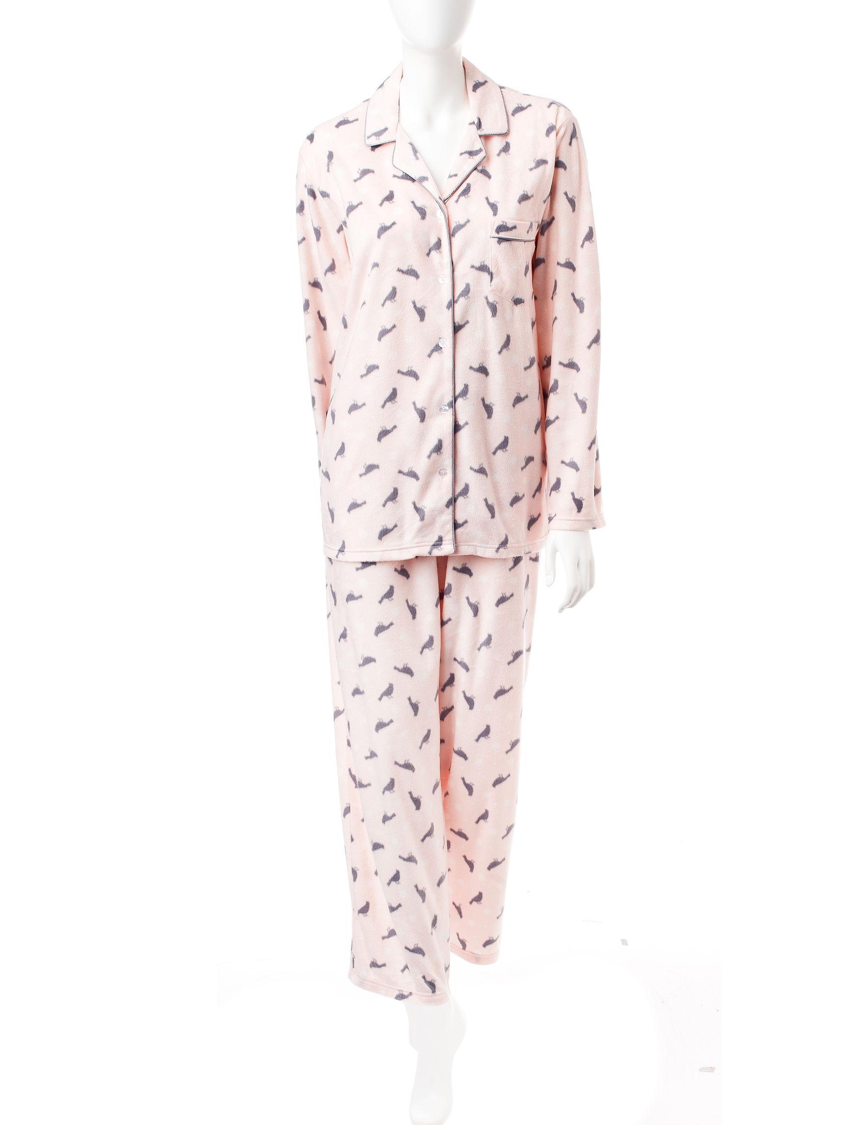 Hannah Pink Pajama Sets
