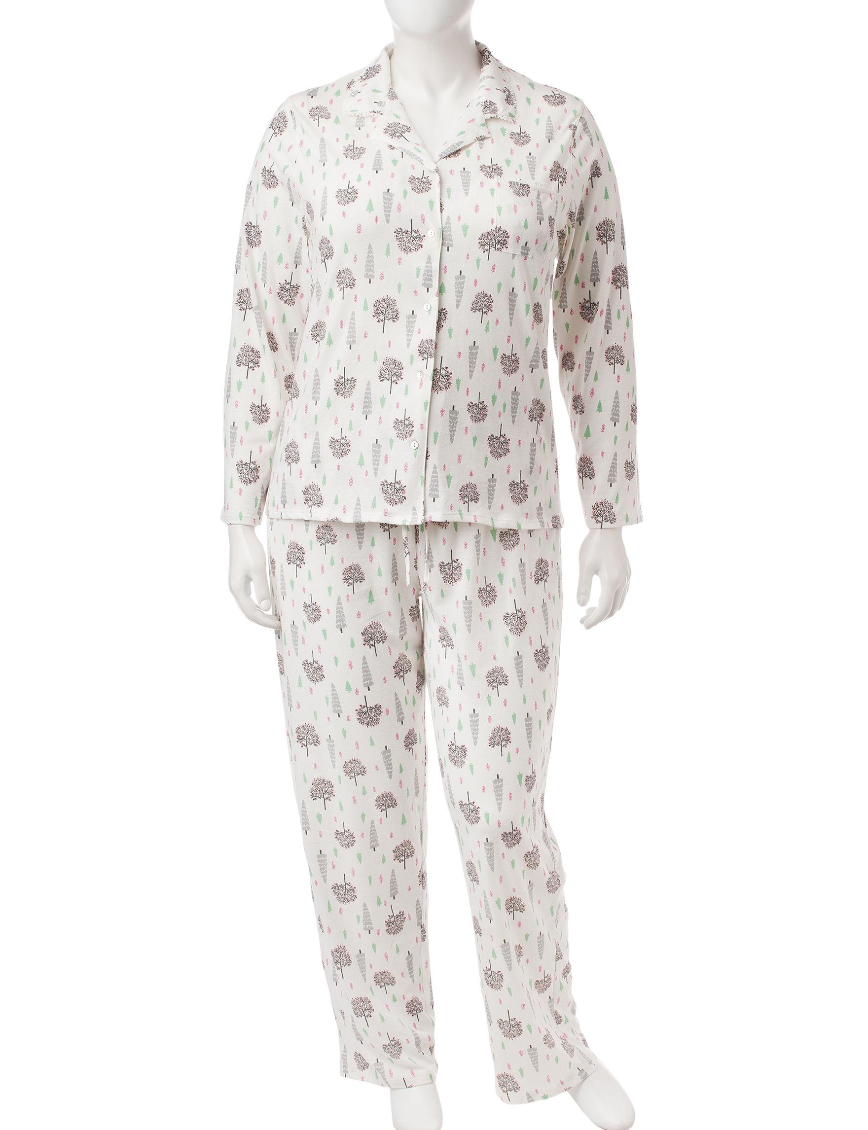 Aria Ivory Pajama Sets