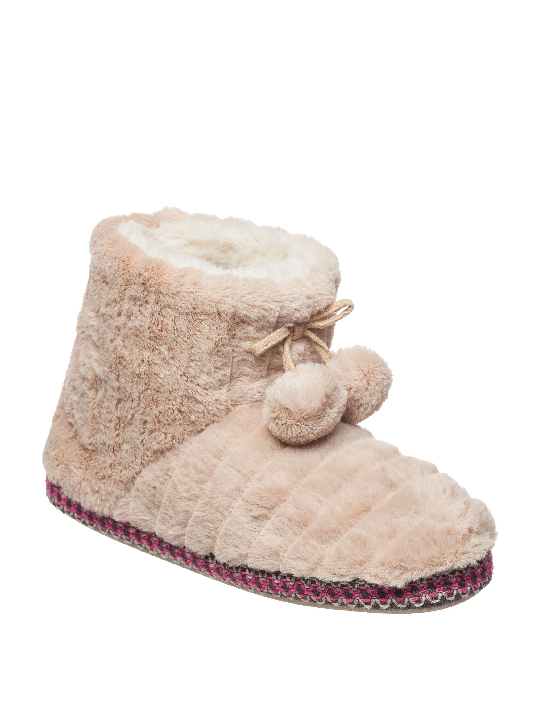 PJ Couture Oatmeal Slipper Boots & Booties