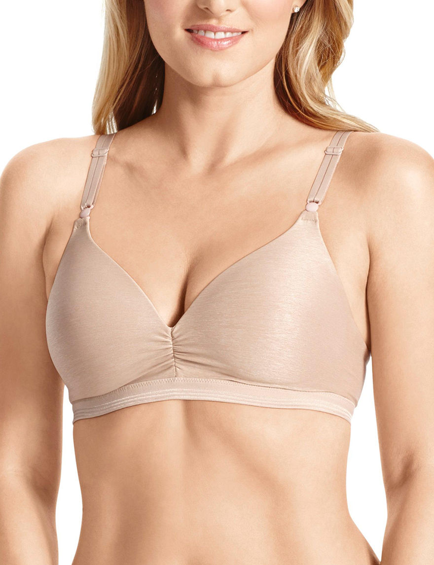 Warner's Almond Bras Convertible Wireless