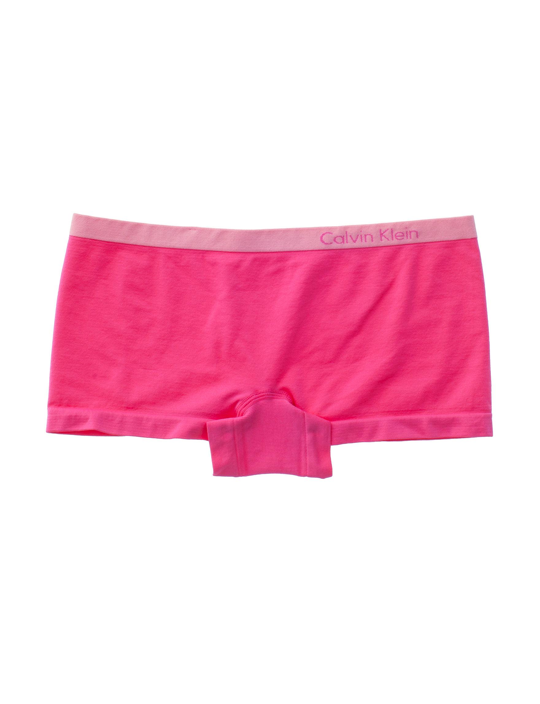 Calvin Klein Pink Panties Boyshort Seamless