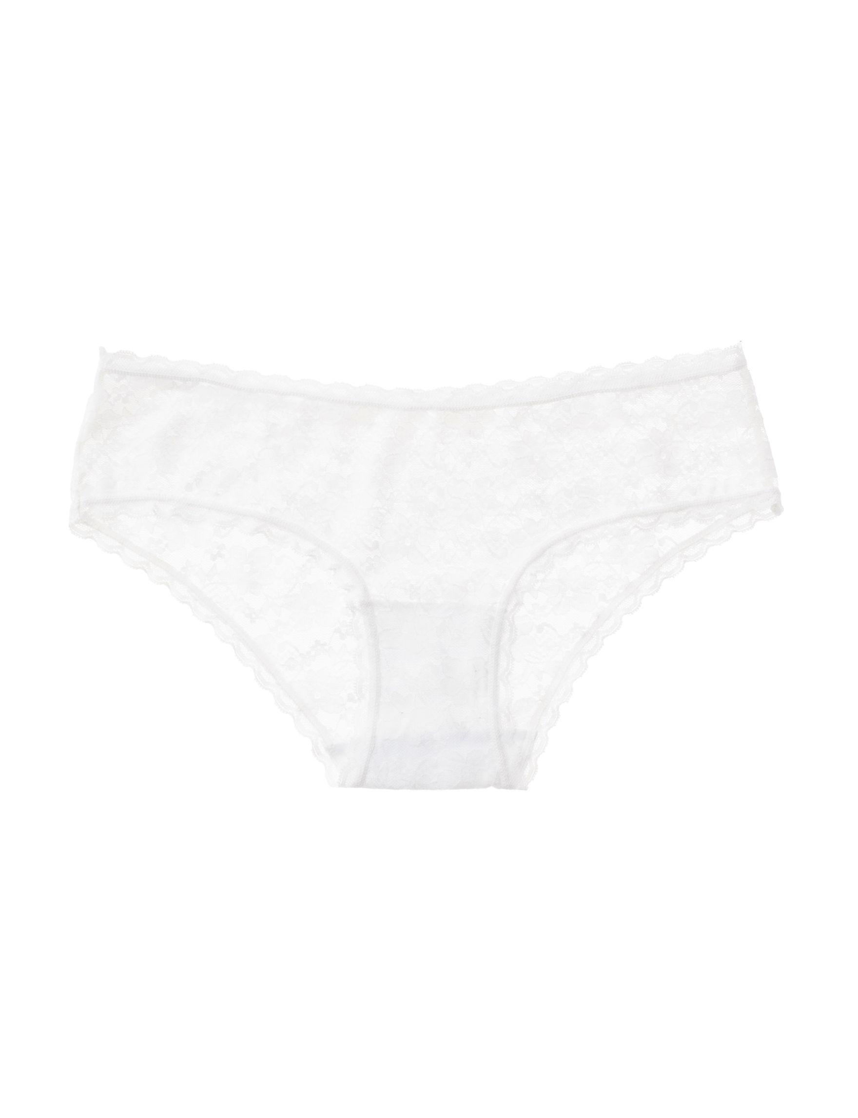 B Intimates White / Grey Panties Hipster