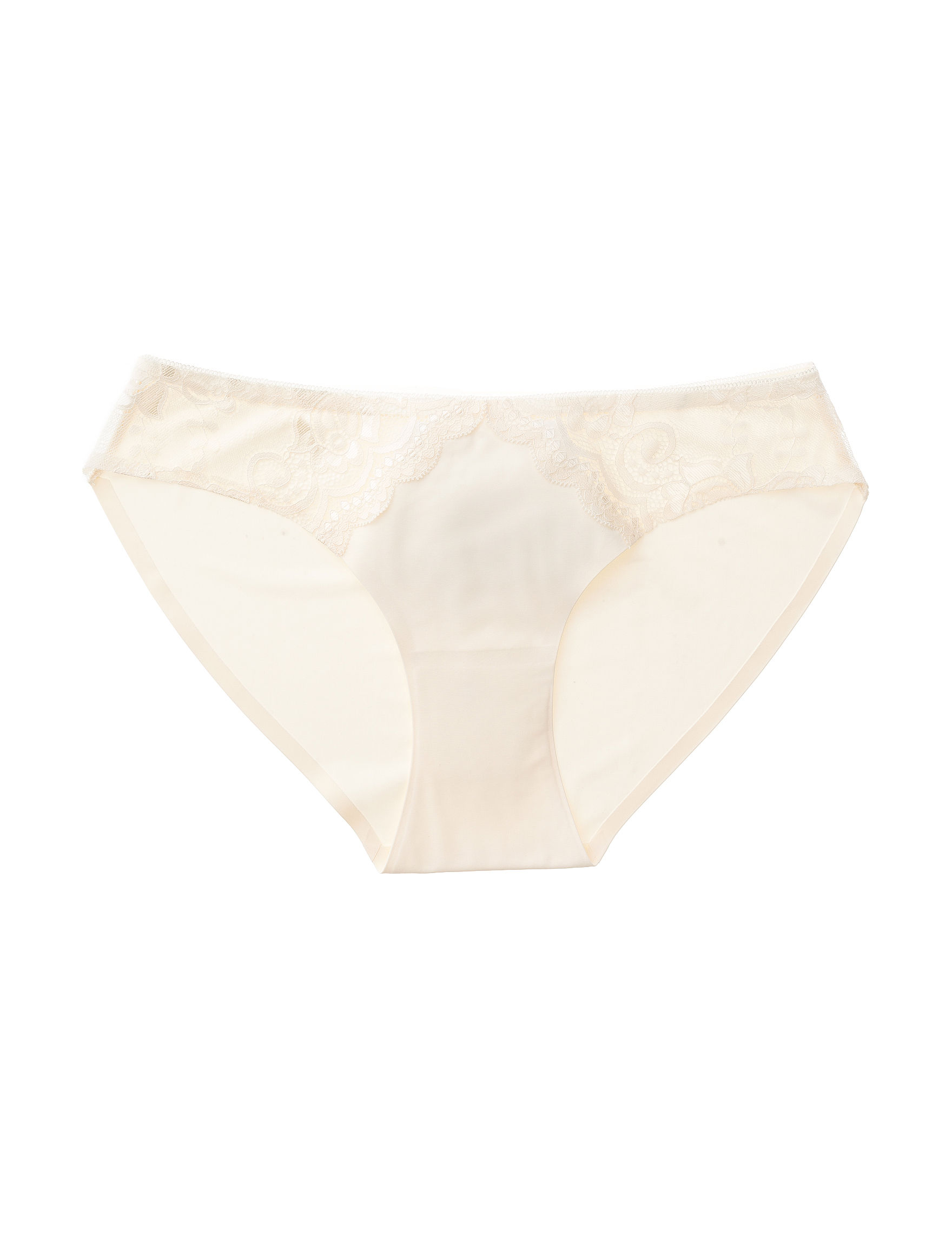 Rene Rofe Ivory Panties Bikini High Cut