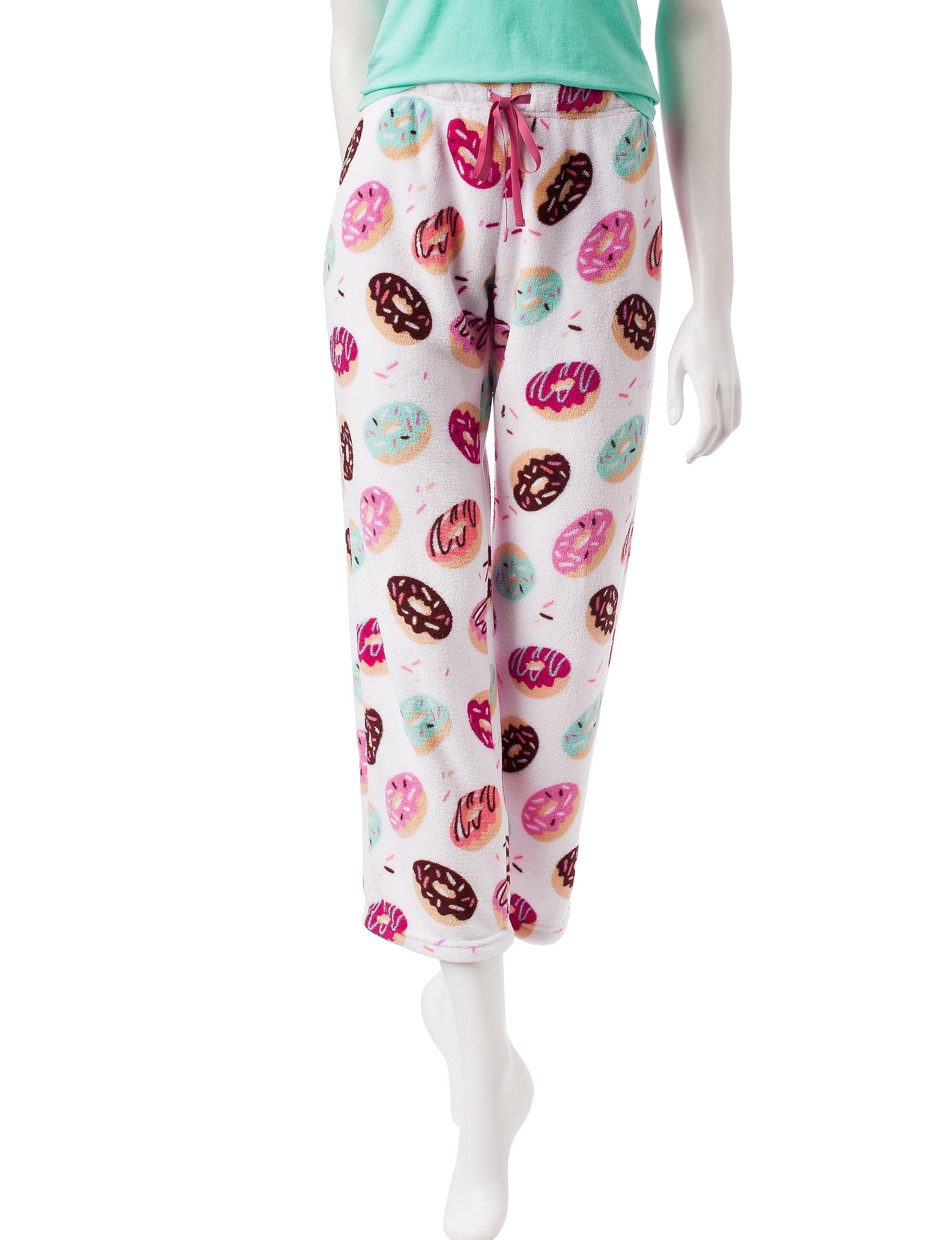 PJ Couture White Pajama Bottoms