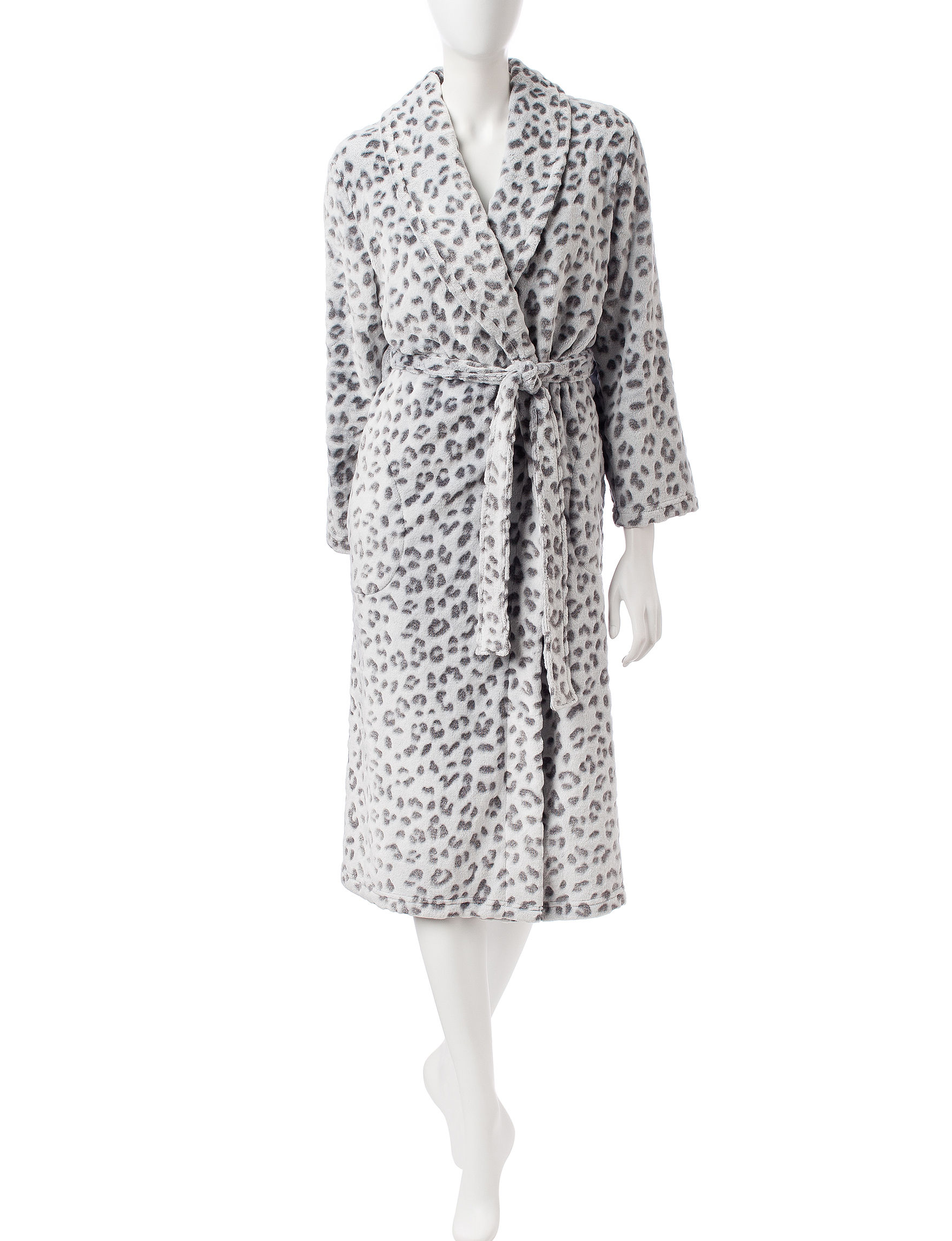 Hannah Charcoal Robes, Wraps & Dusters