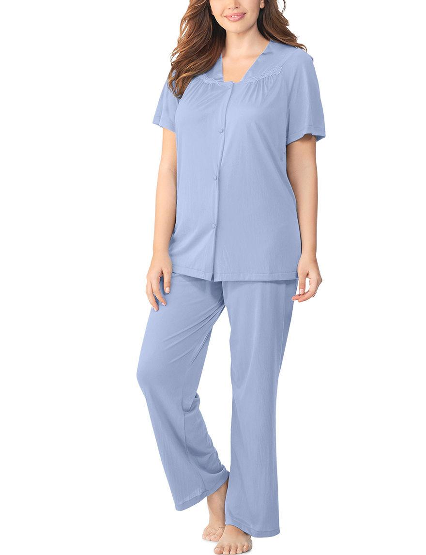 Vanity Fair Purple Pajama Sets