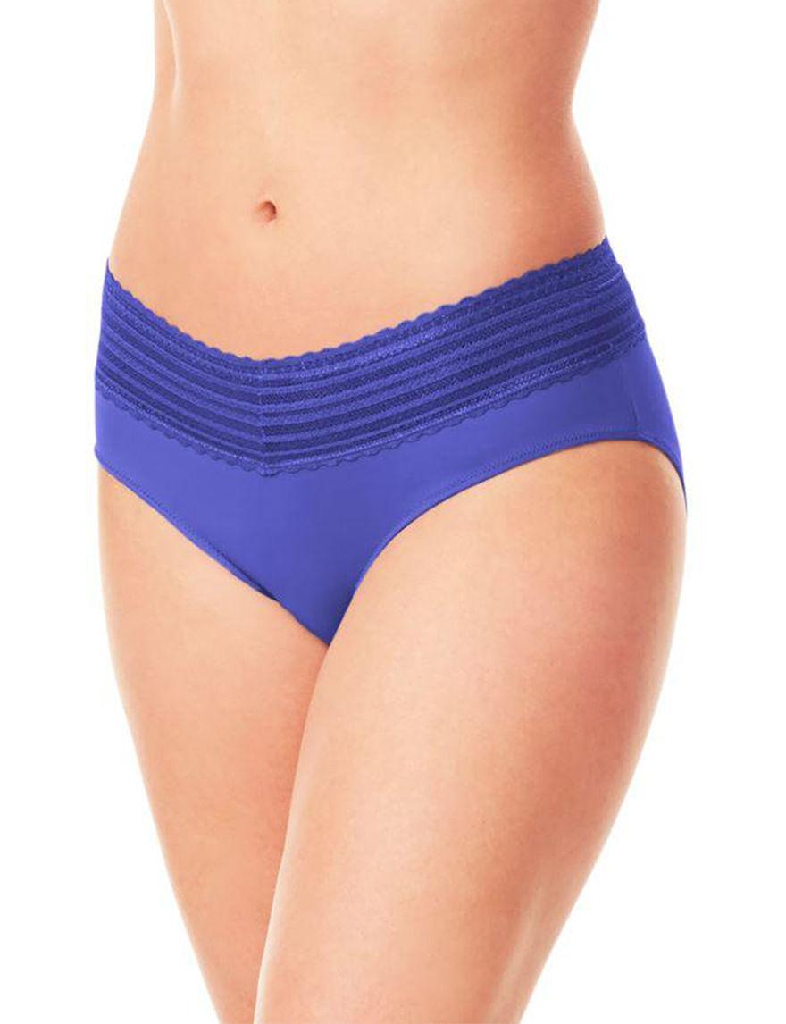 Warner's Blue Panties Hipster