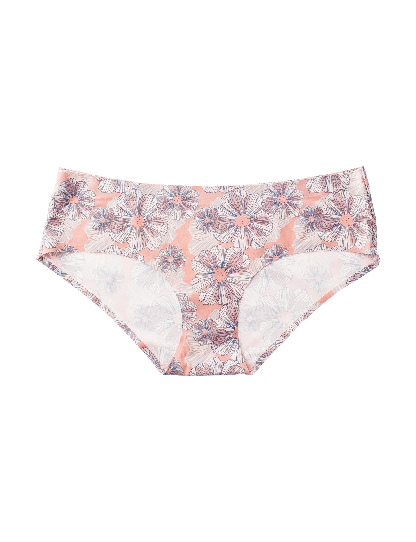 Rene Rofe Brown Floral Panties Hipster