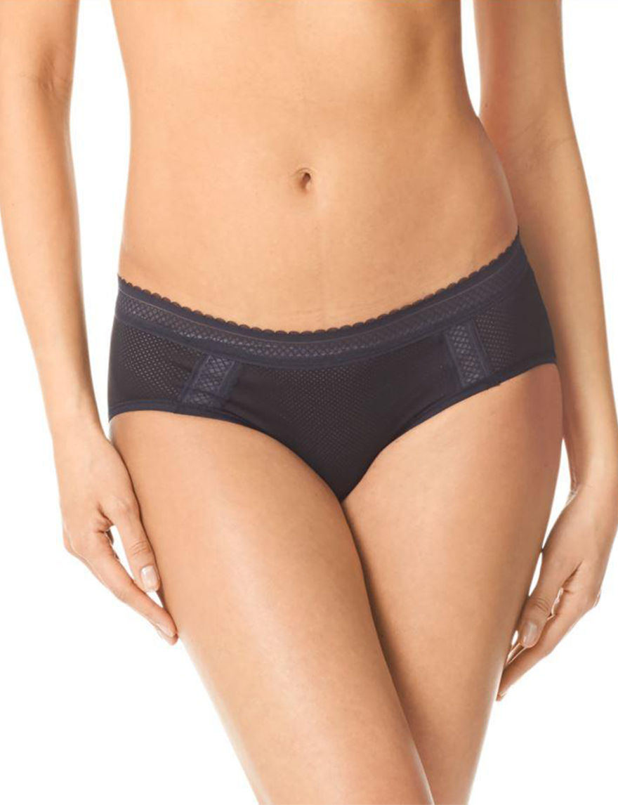 Warner's Black Panties Hipster