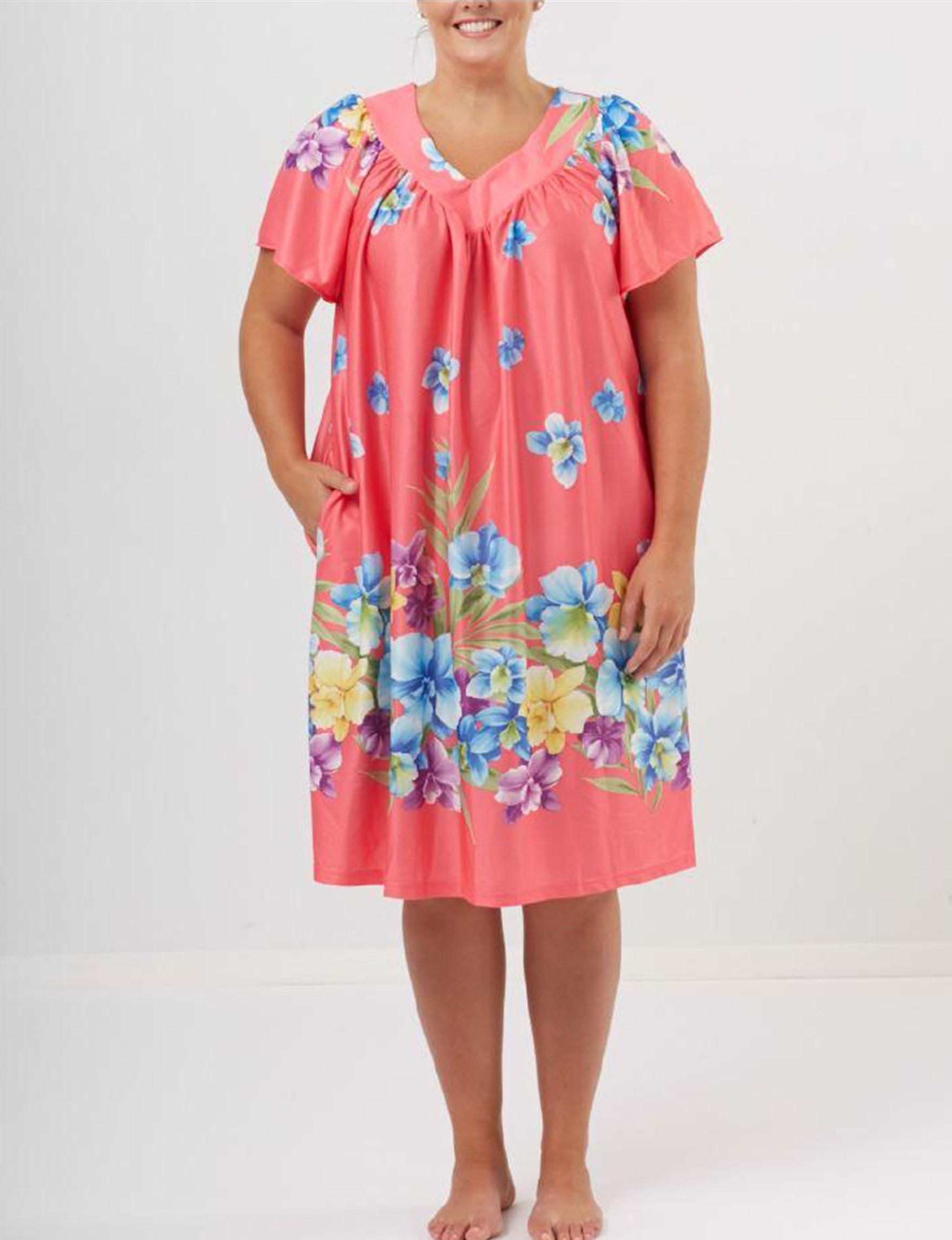 Granada Coral House Dresses