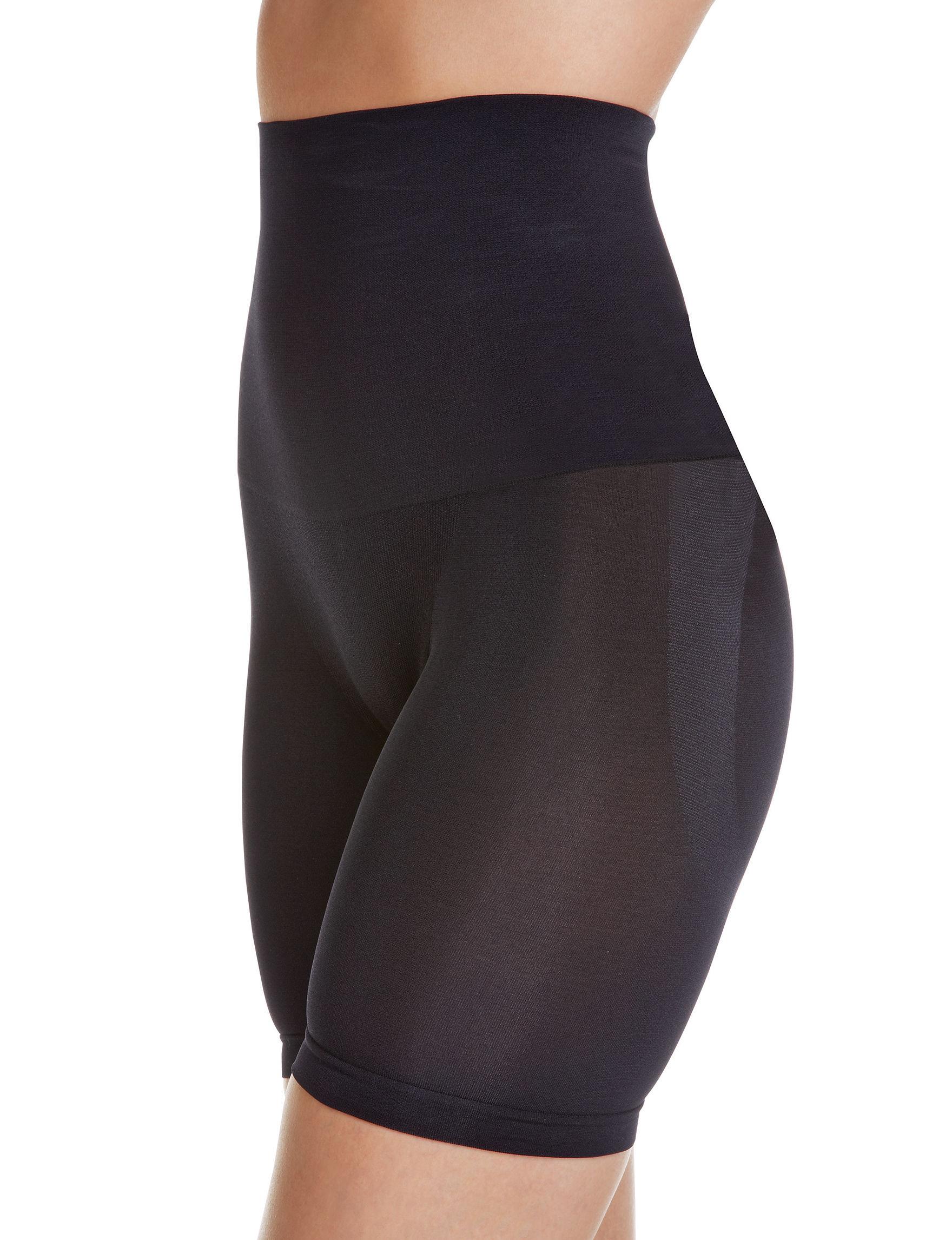 Lunaire Black Slips & Shapewear