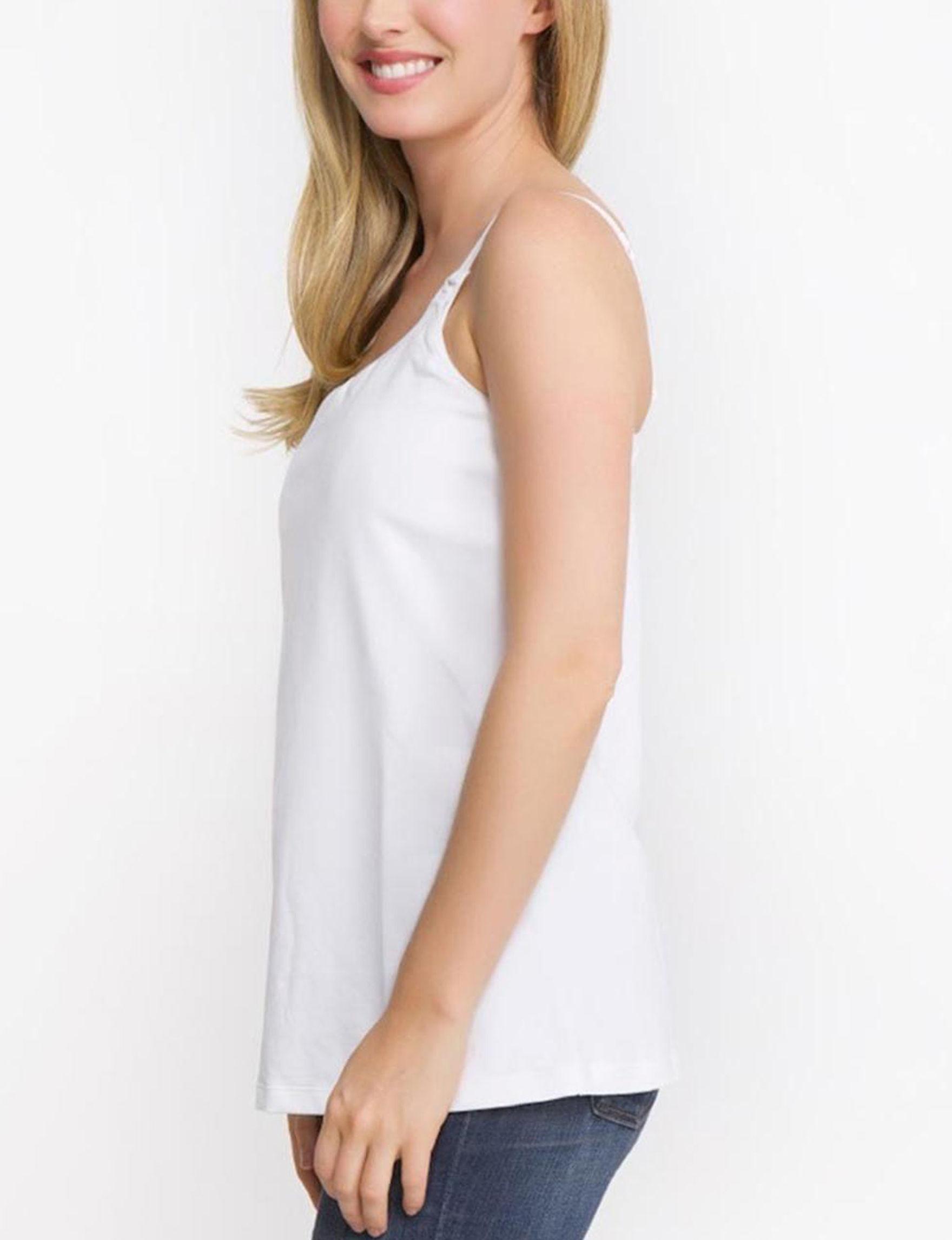 La Leche League White Slips & Shapewear