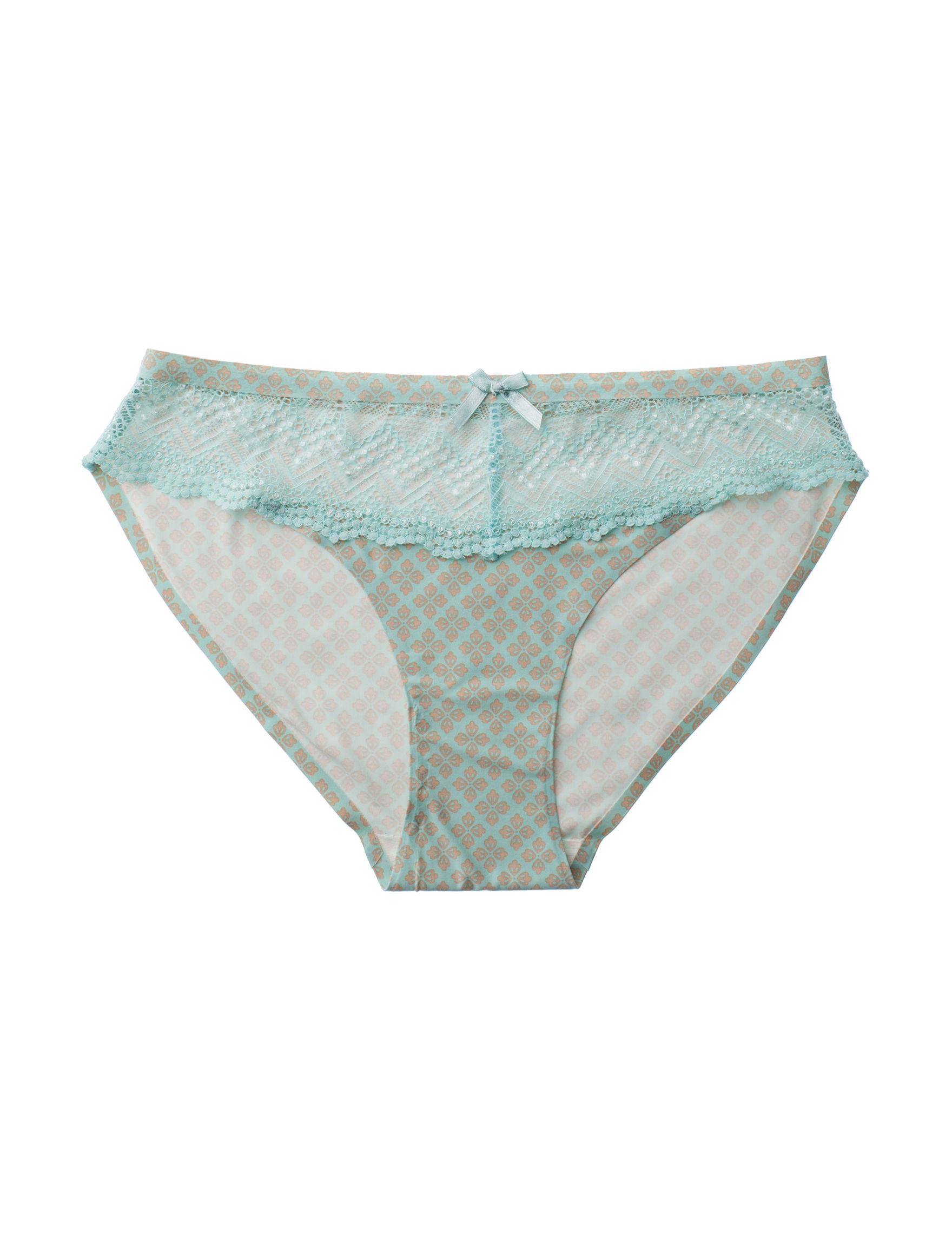 Rene Rofe Teal Panties Bikini