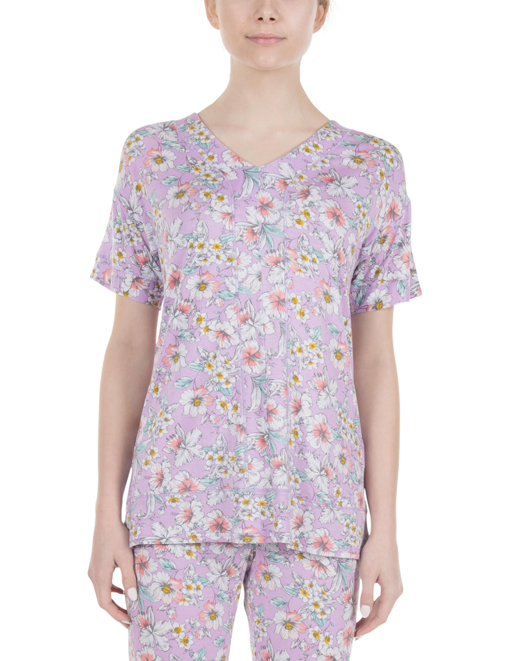 Lissome Lavender Pajama Tops