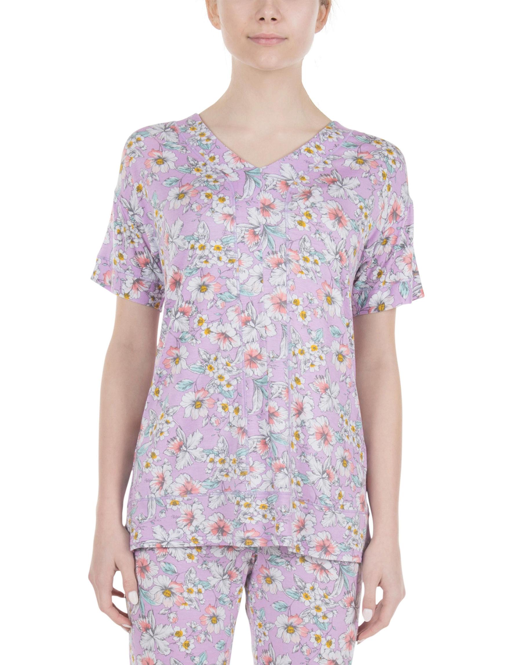 Lissome Lavender Pajama Tops