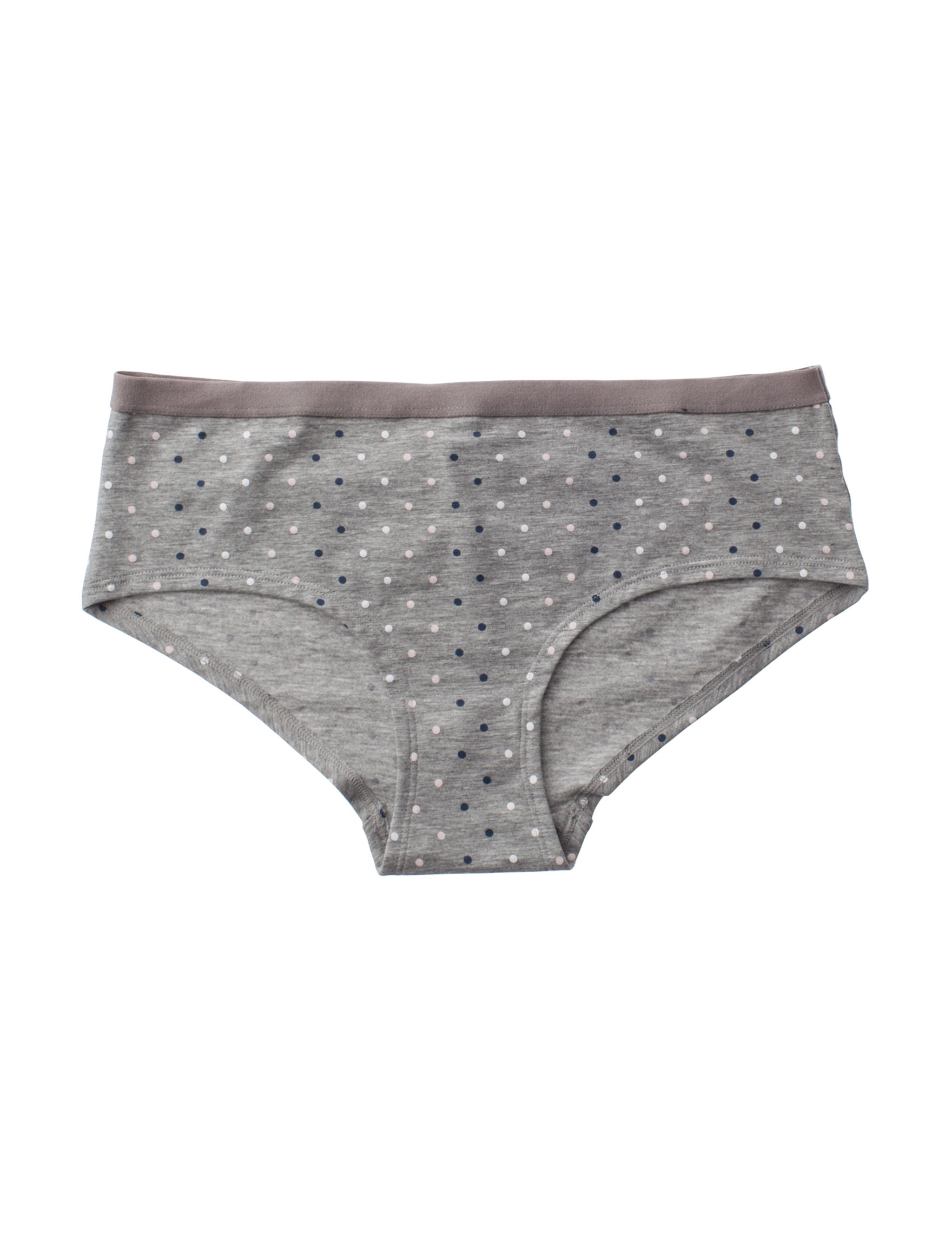 International Intimates Grey Panties Boyshort