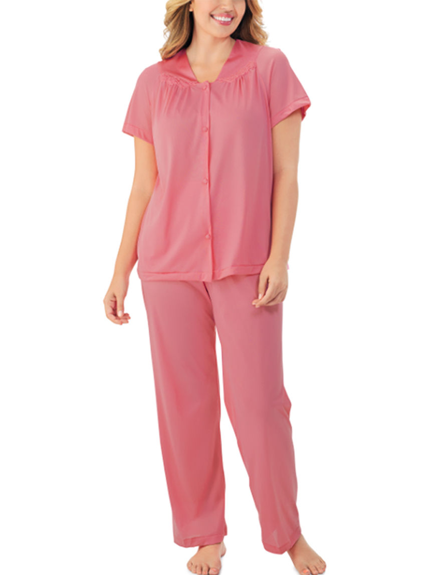 Exquisite Form Pink Pajama Sets