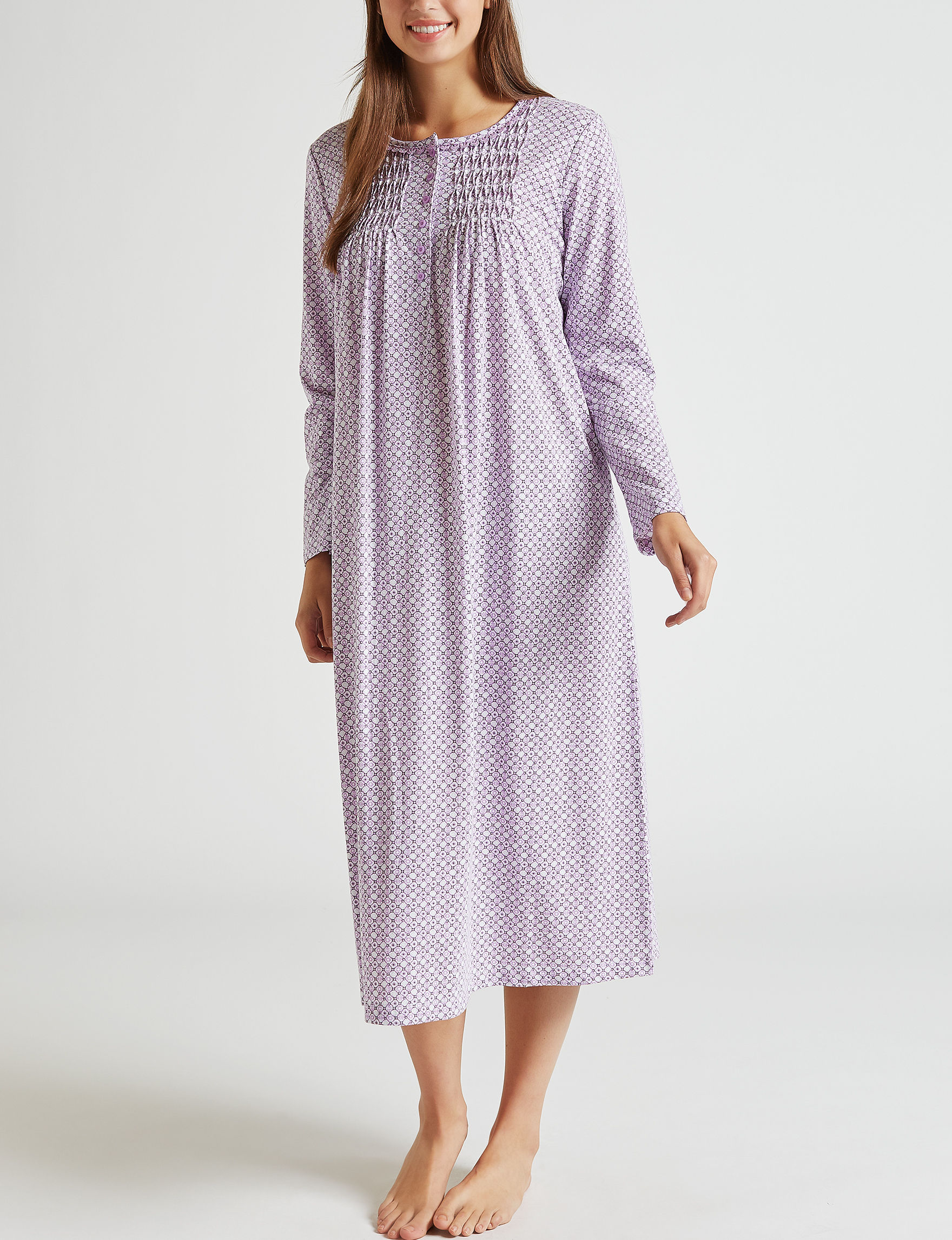 Rebecca Malone Pink Multi Nightgowns & Sleep Shirts