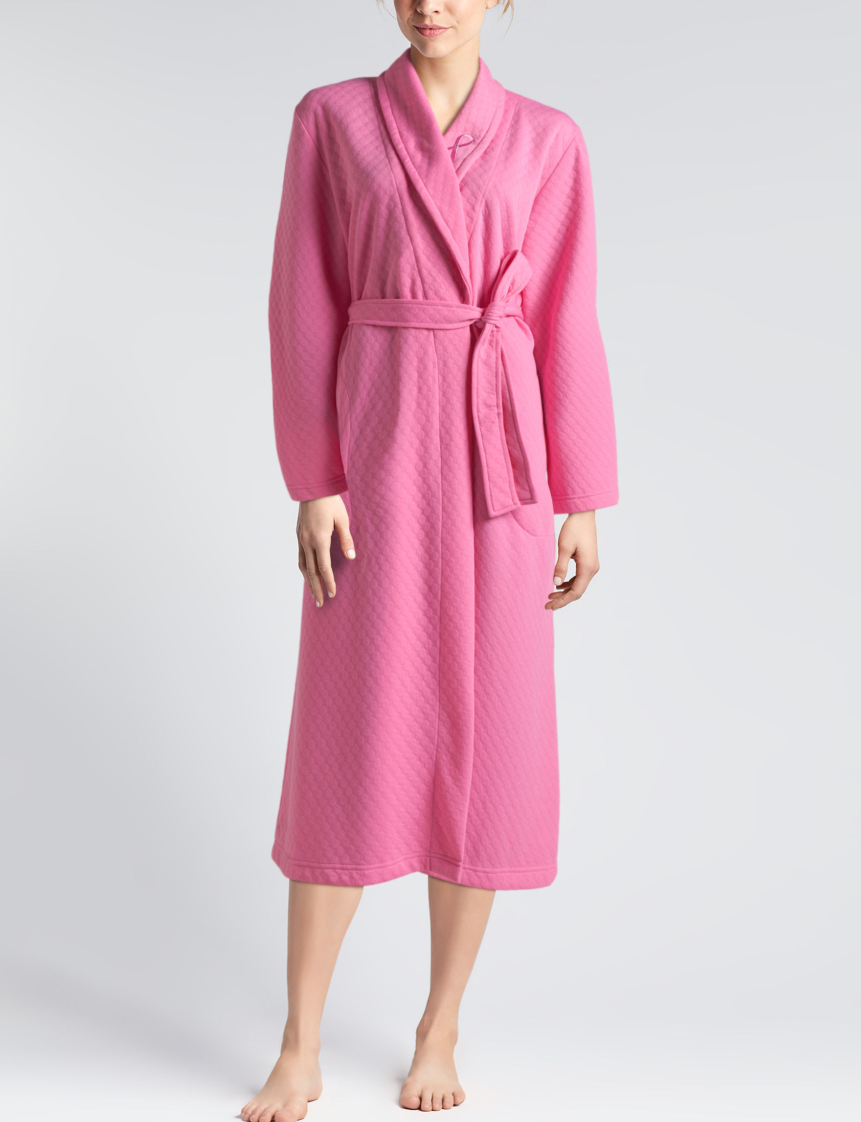 Hannah Pink Robes, Wraps & Dusters