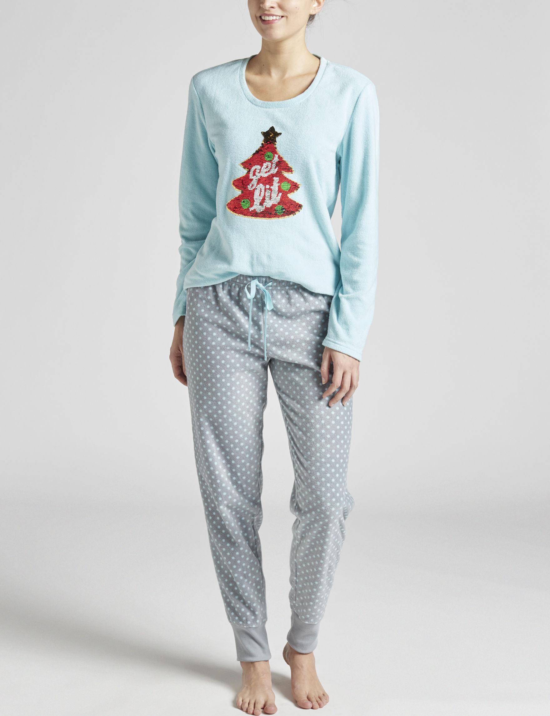 PJ Couture Gray Pajama Sets