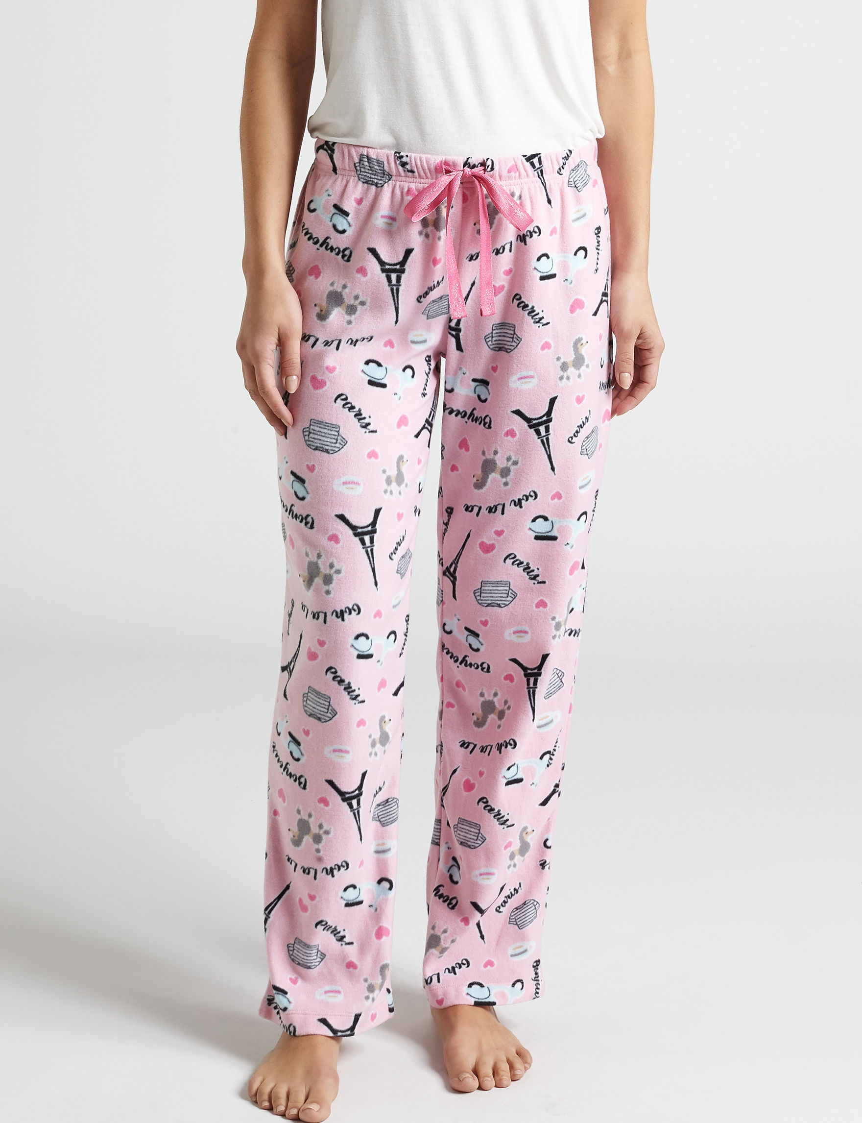 Hannah Pink Pajama Bottoms