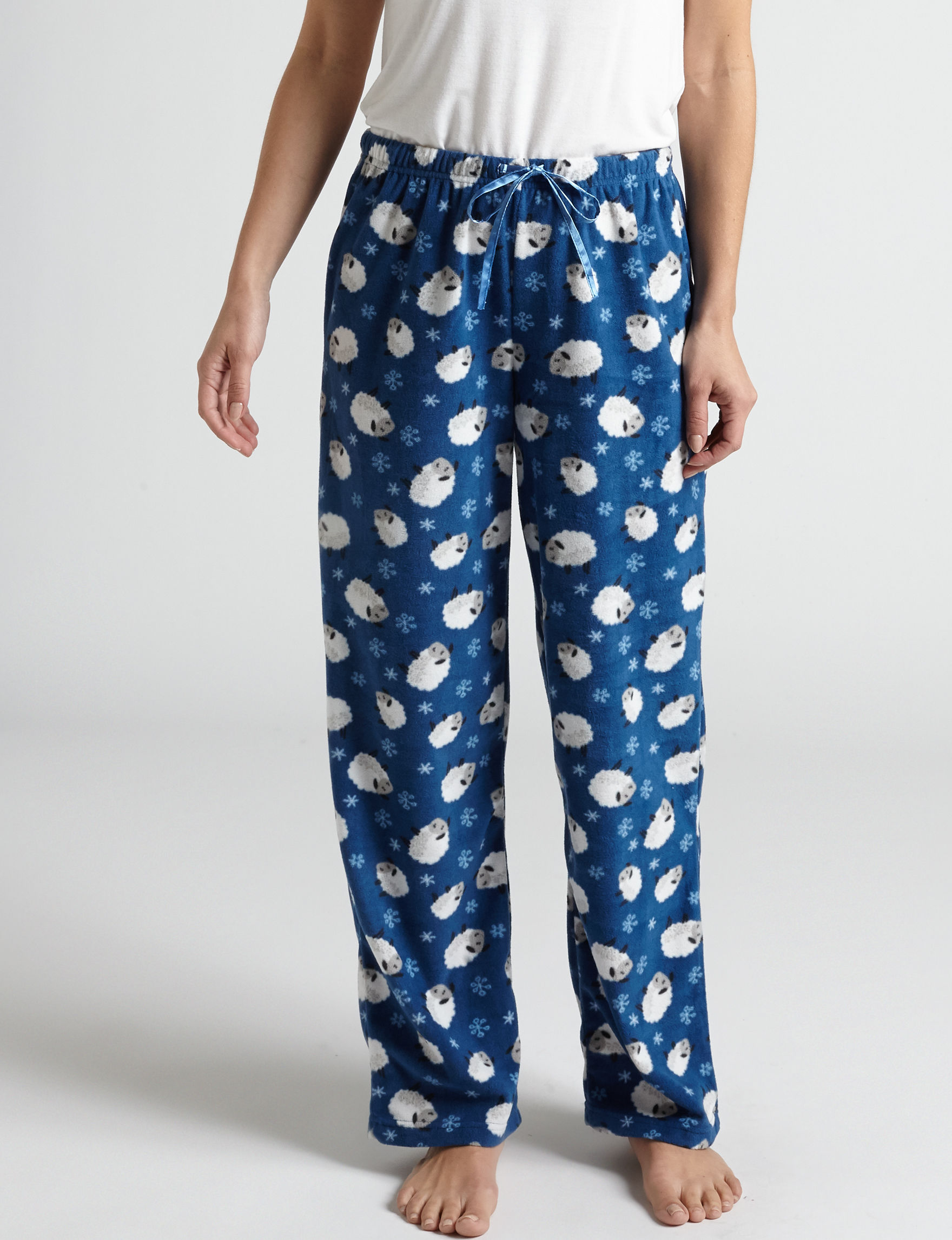Hannah Navy Pajama Bottoms