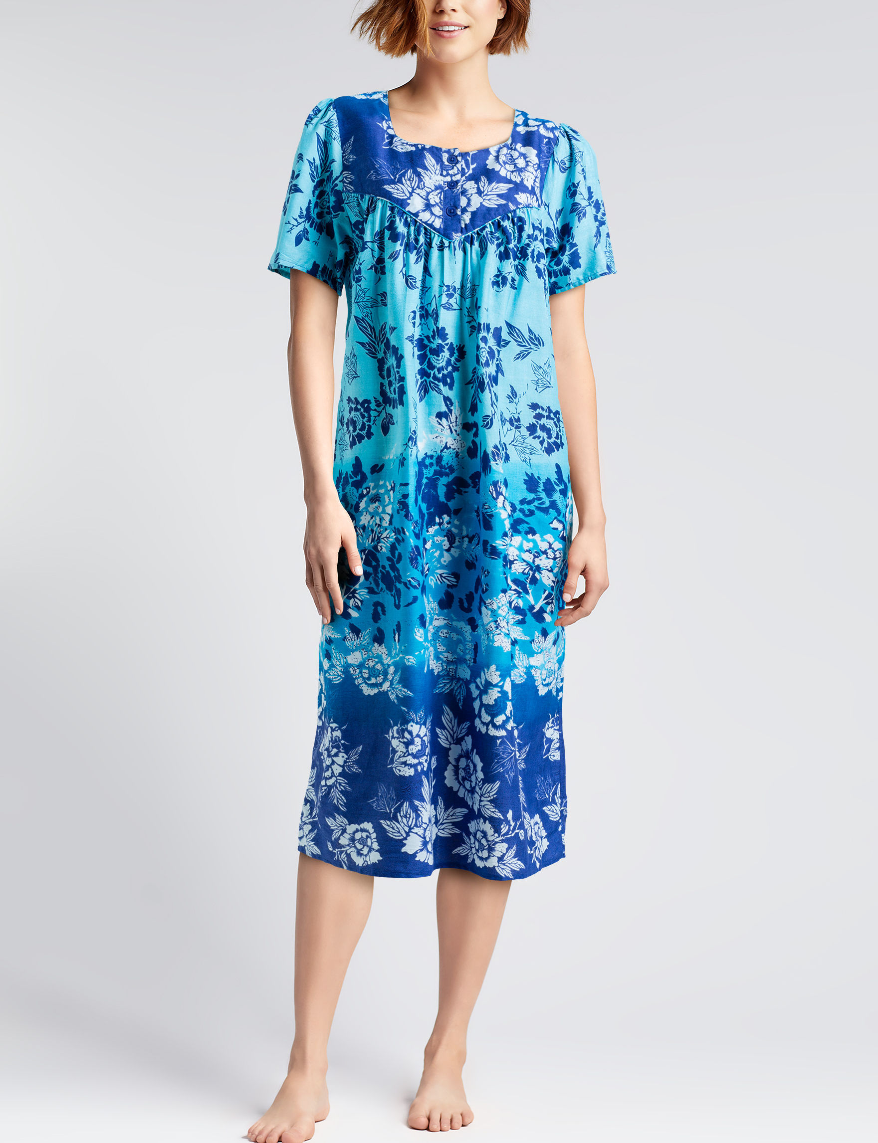 Loungees Turquoise House Dresses