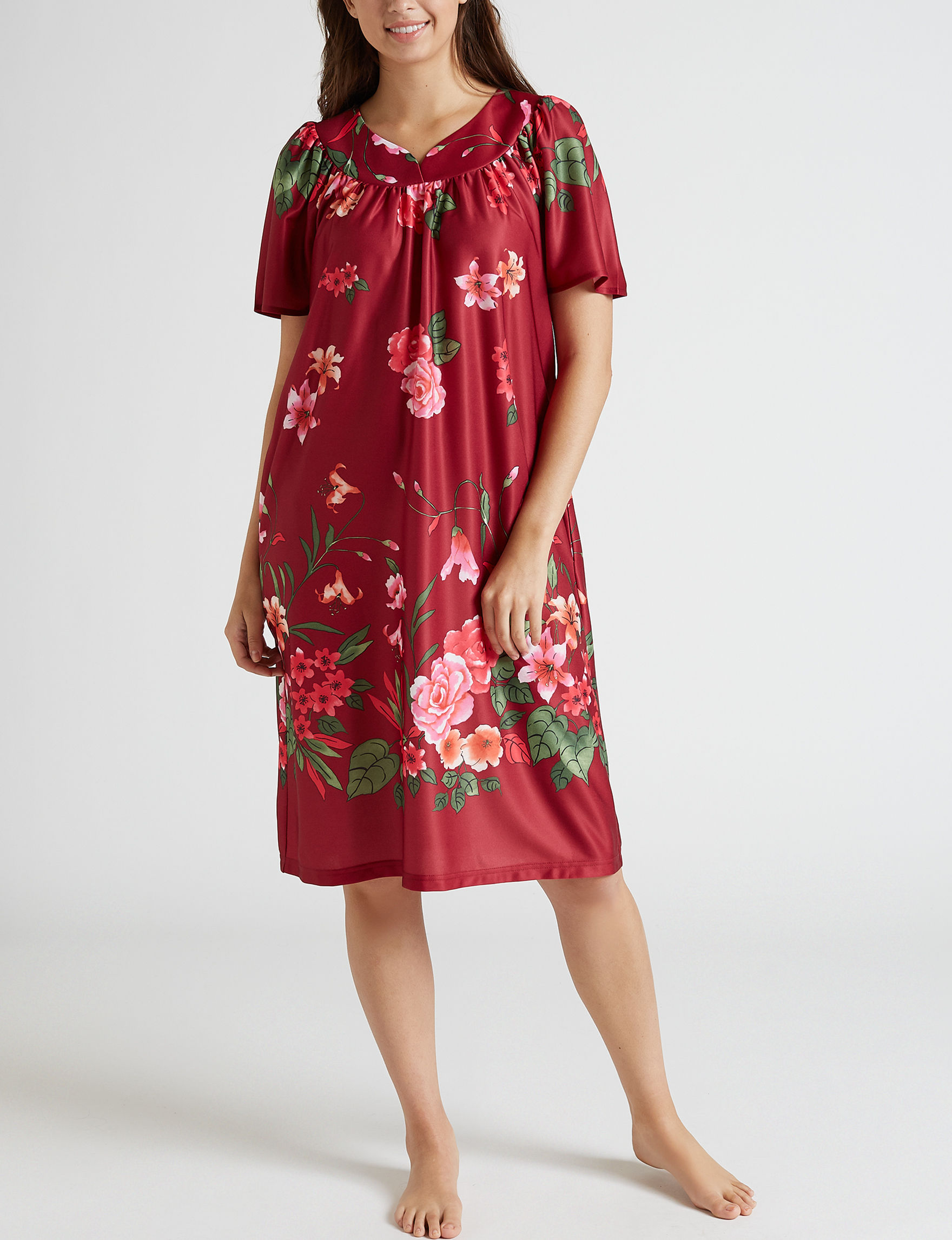 Lissome Red House Dresses
