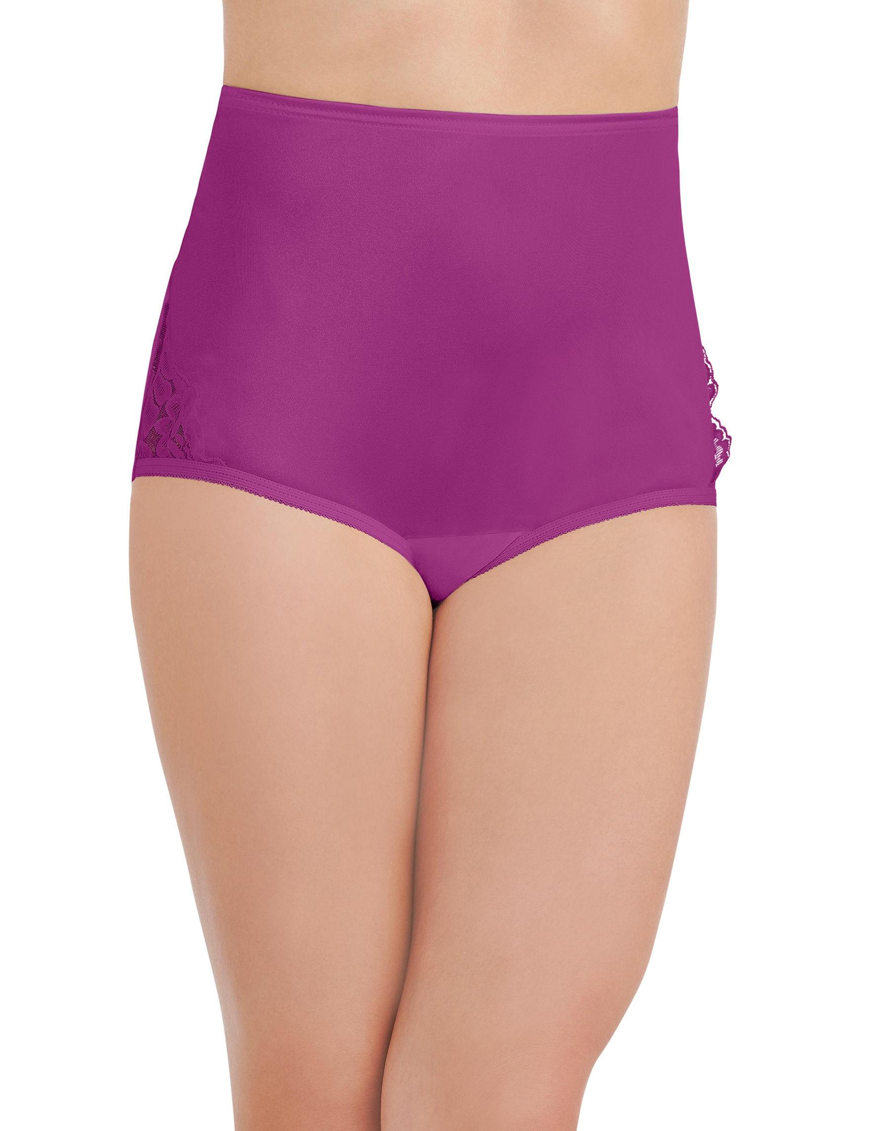 Vanity Fair Purple Panties Briefs
