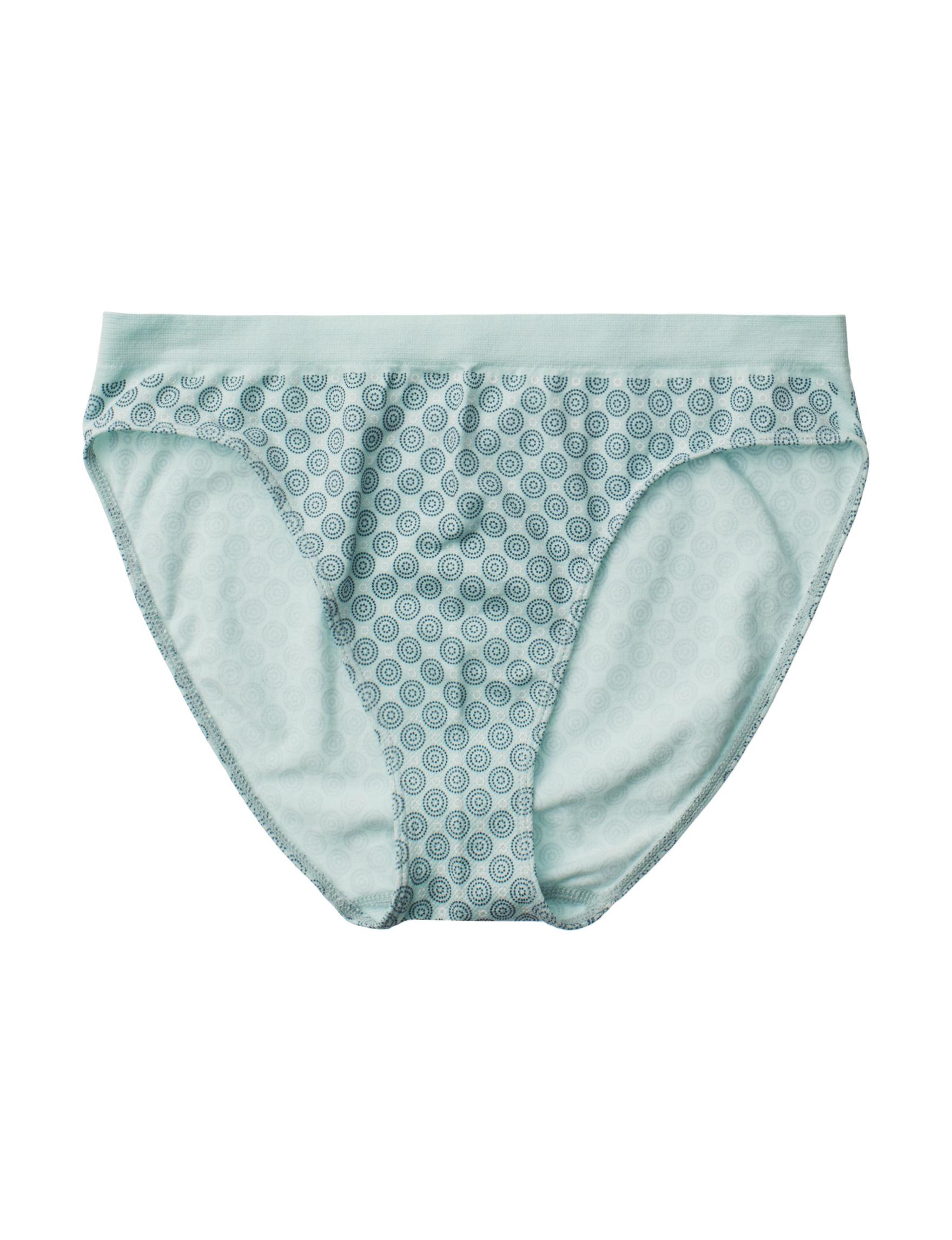 Rene Rofe Mint Panties High Cut