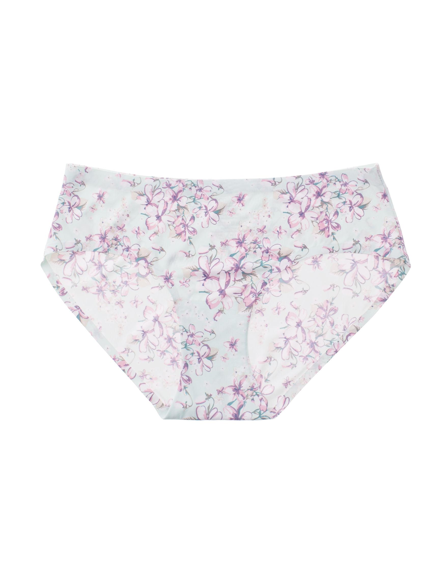 Sophie B Blue Floral Panties Hipster