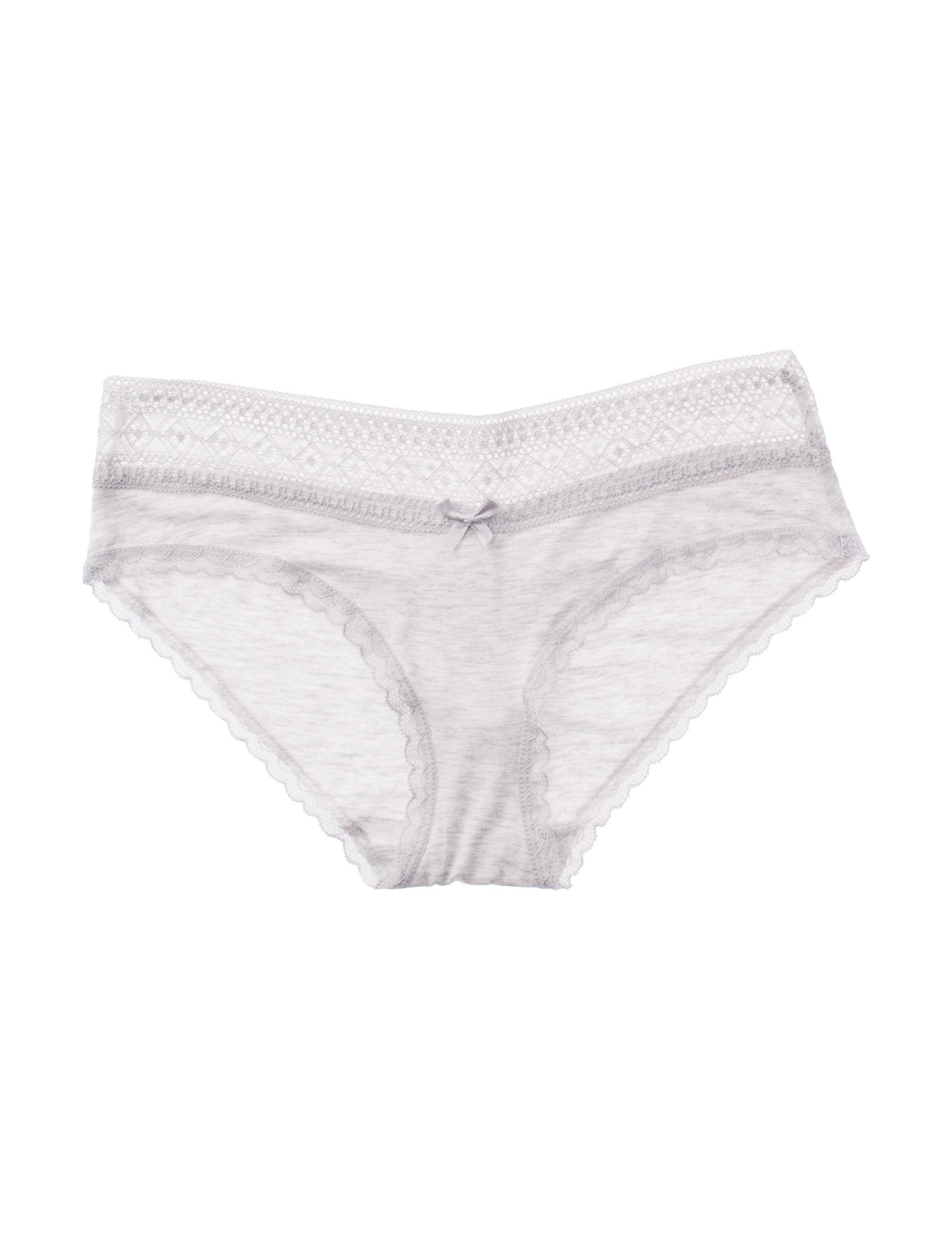 Rene Rofe Heather Grey Panties Hipster