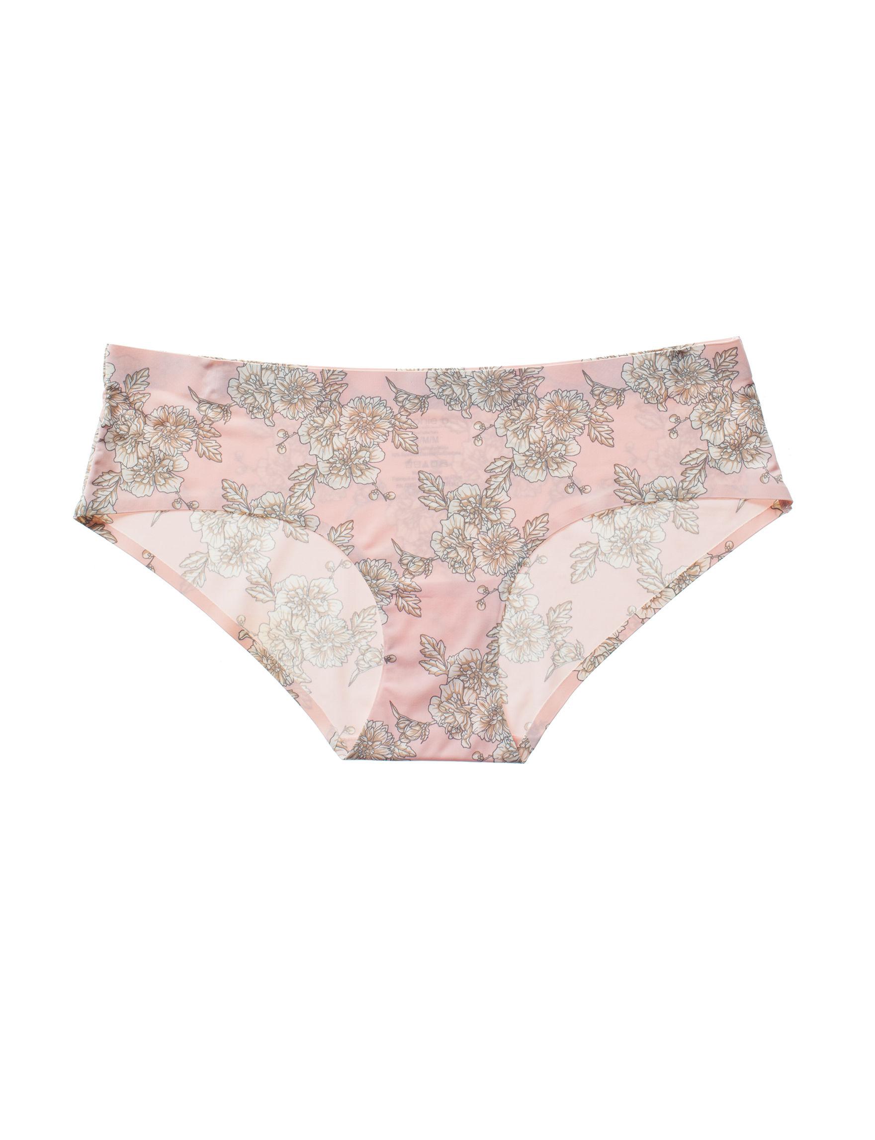 Sophie B Pink Floral Panties Hipster