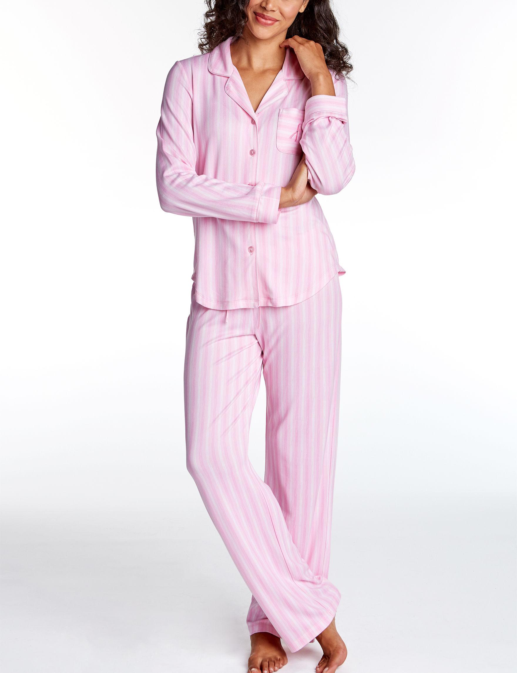 Hannah Soft Pink Pajama Sets