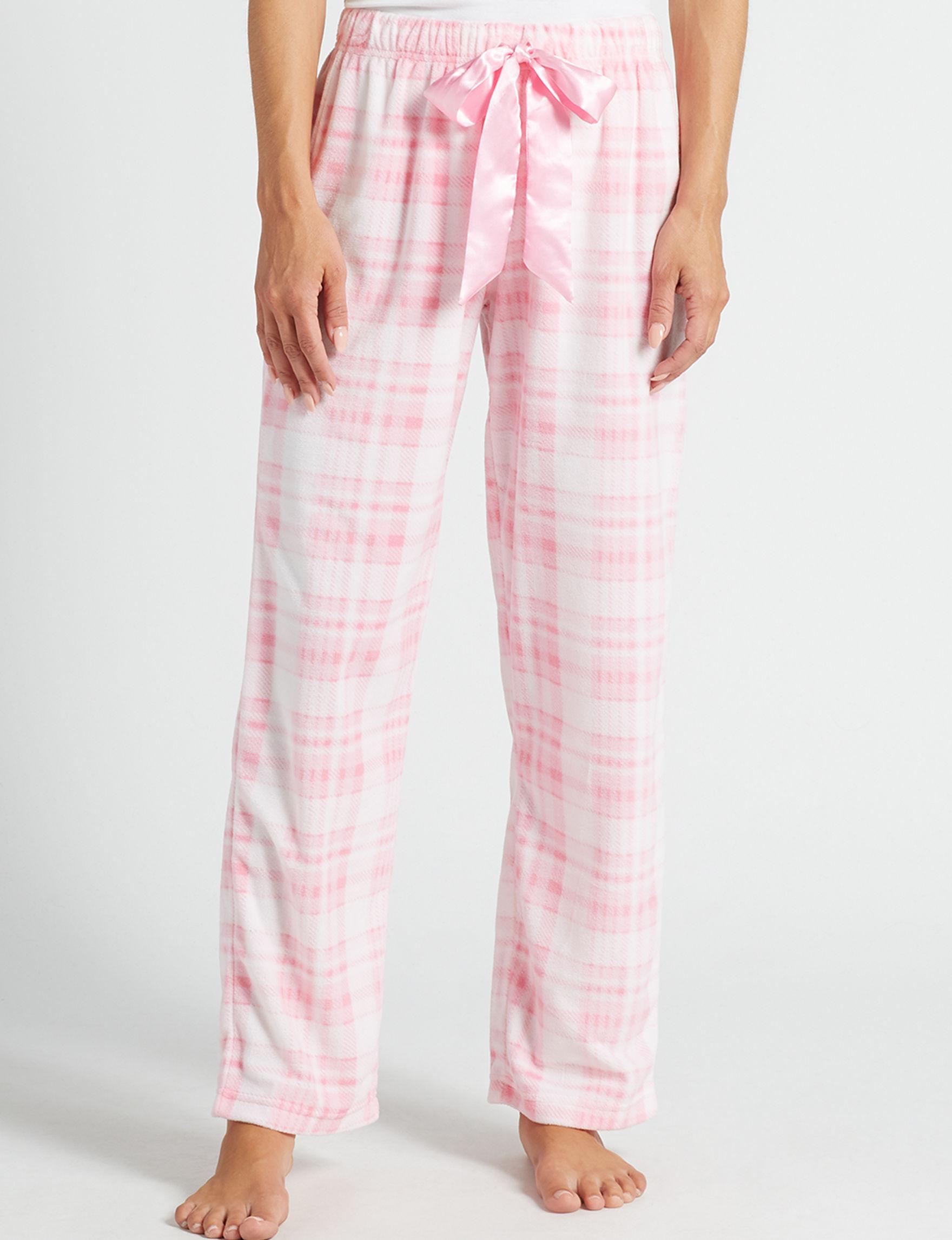 Hannah Ivory / Pink Pajama Bottoms
