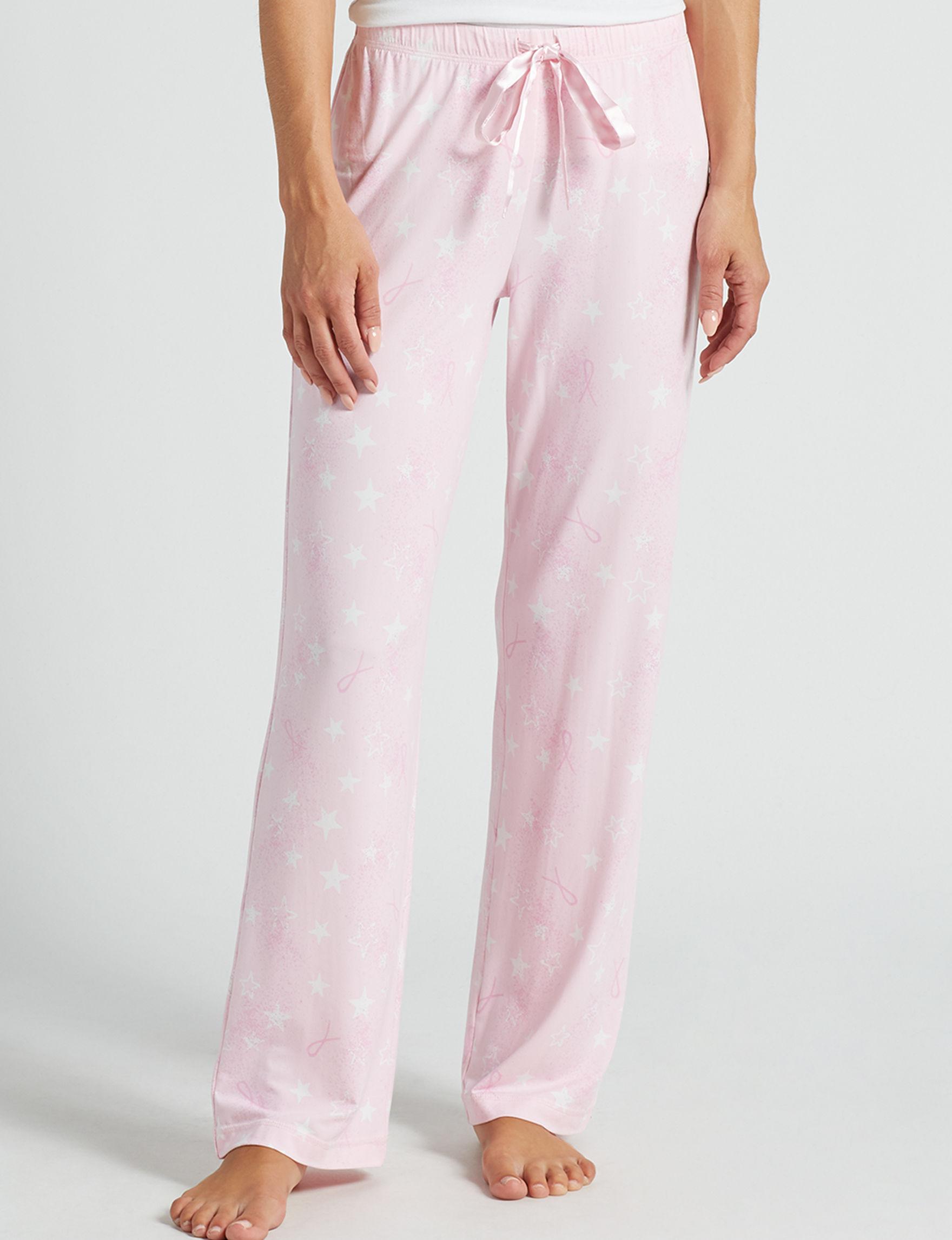 Hannah Soft Pink Pajama Bottoms