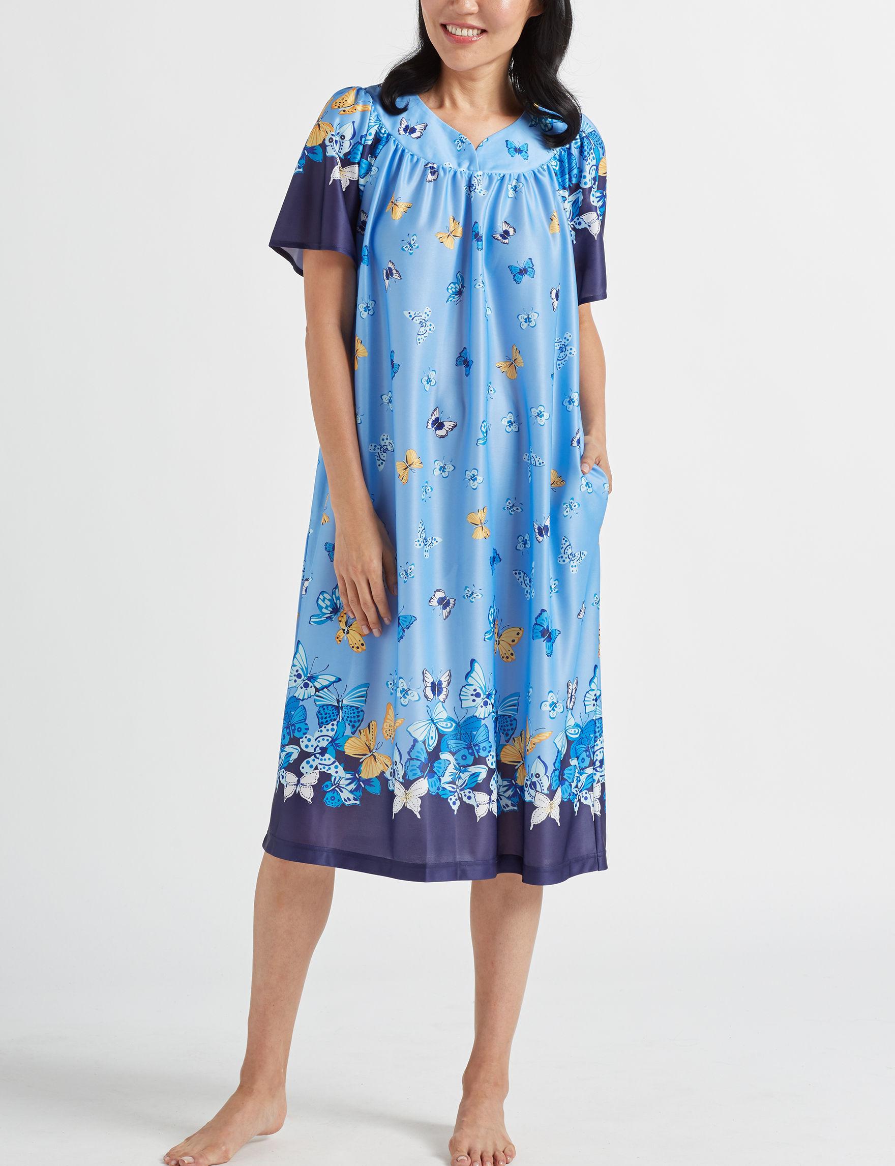 Lissome Blue House Dresses