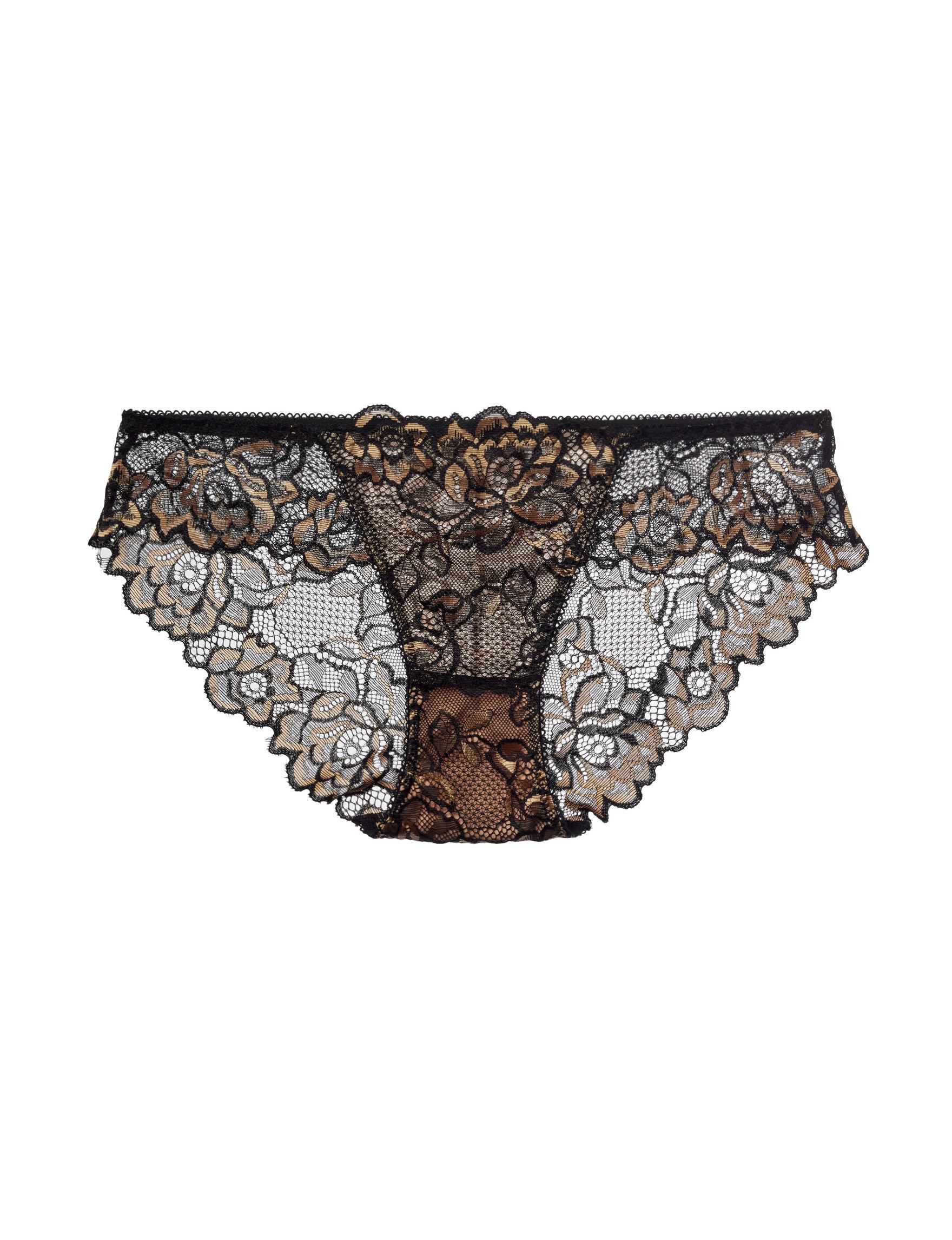 Rene Rofe Black Panties Bikini