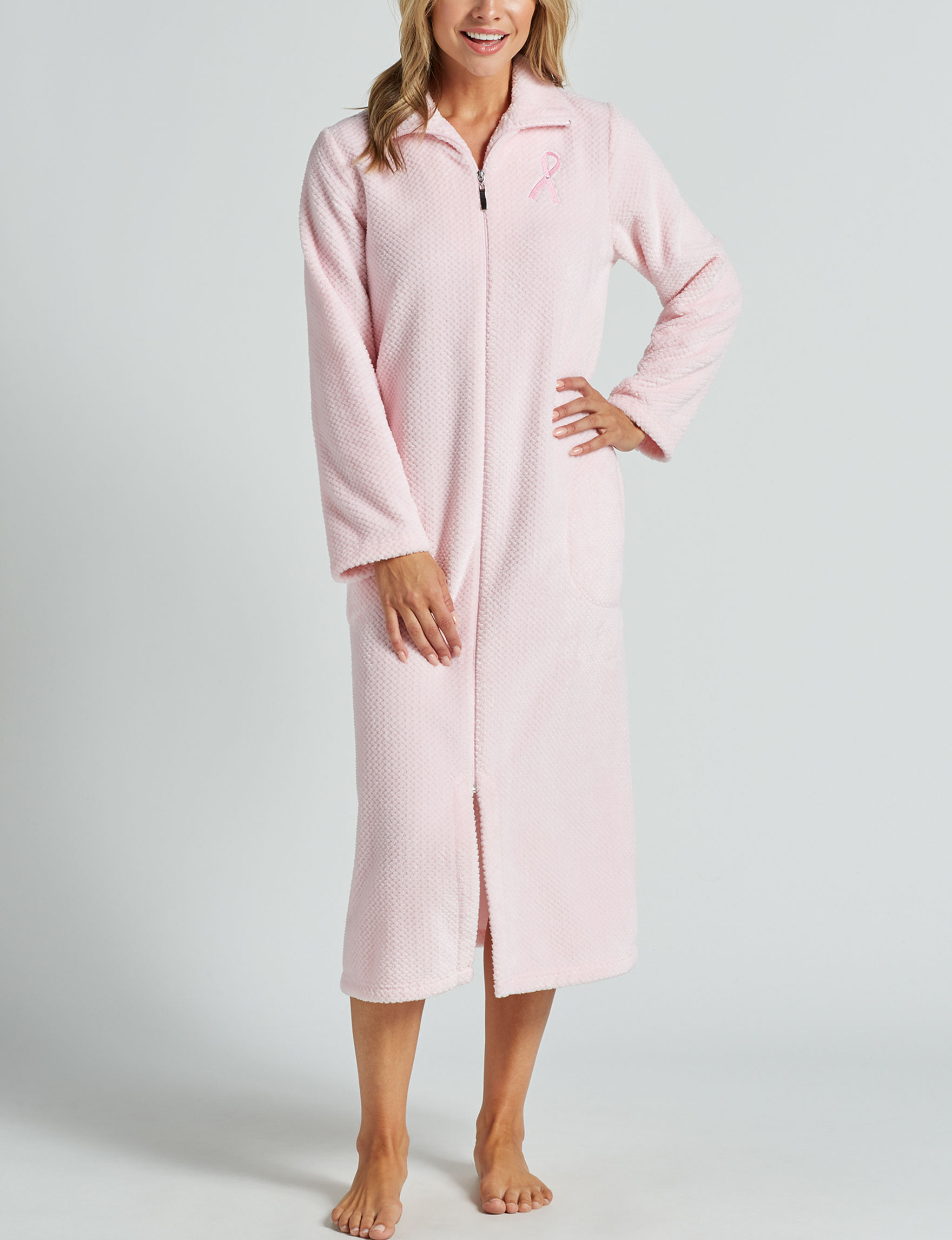 Hannah Soft Pink Robes, Wraps & Dusters