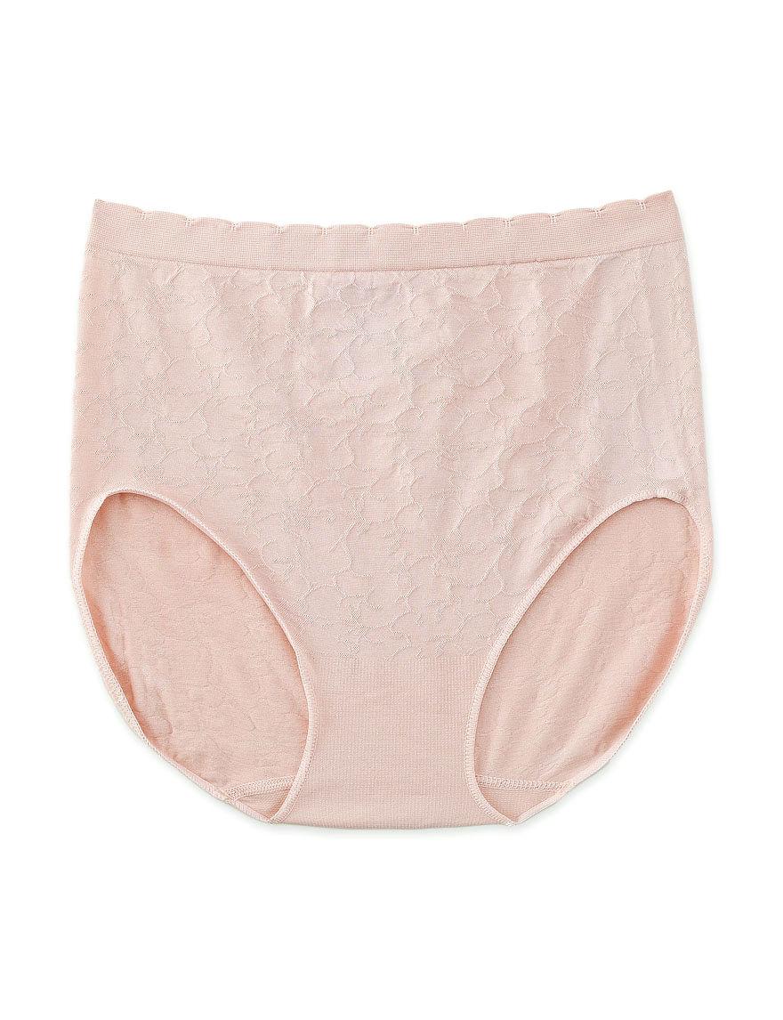 Ellen Tracy Beige Panties Briefs Seamless