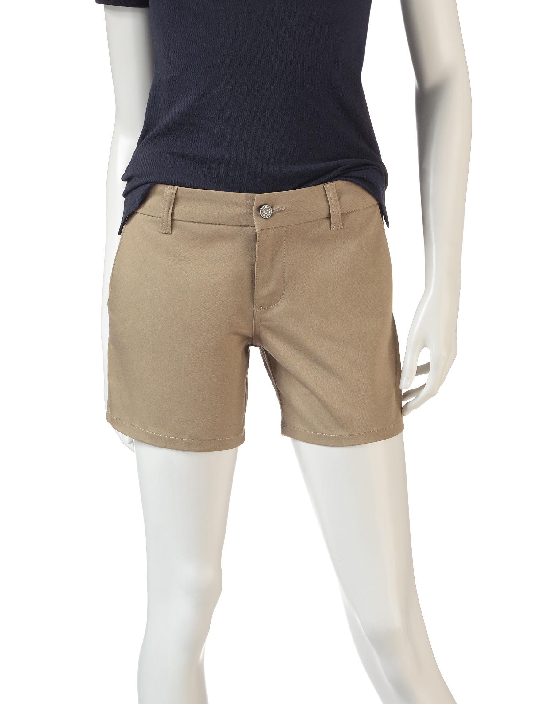 Dickies Khaki Tailored Shorts