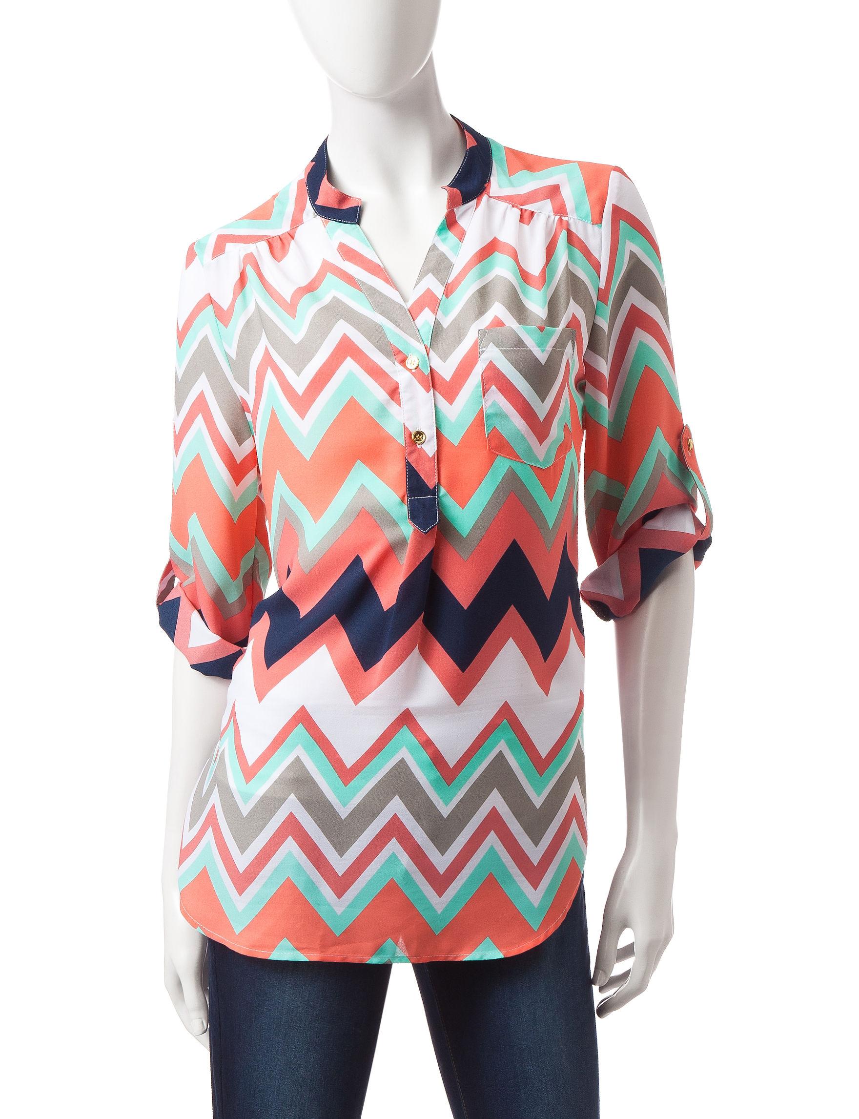 Wishful Park Coral Shirts & Blouses