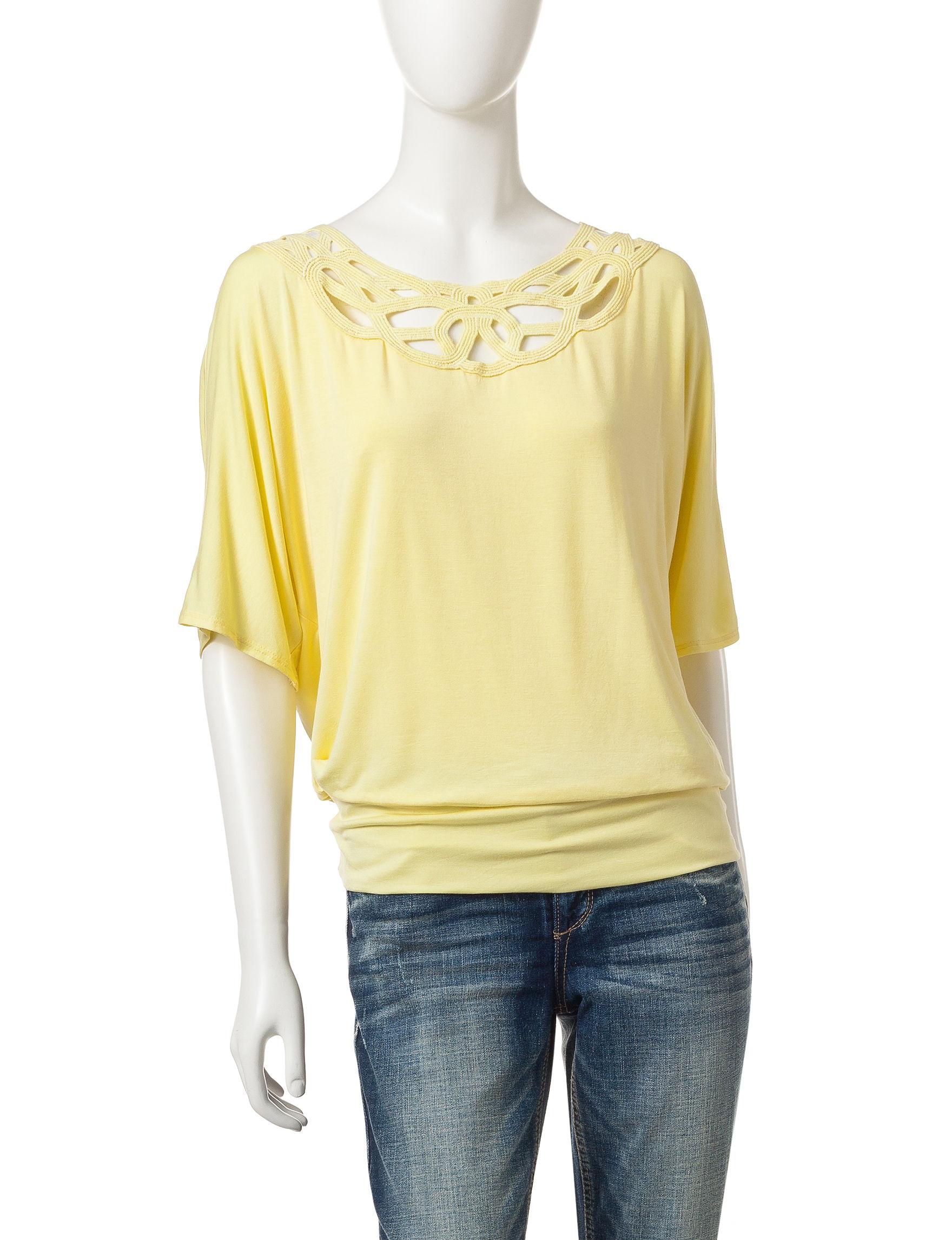 A. Byer Butter Shirts & Blouses