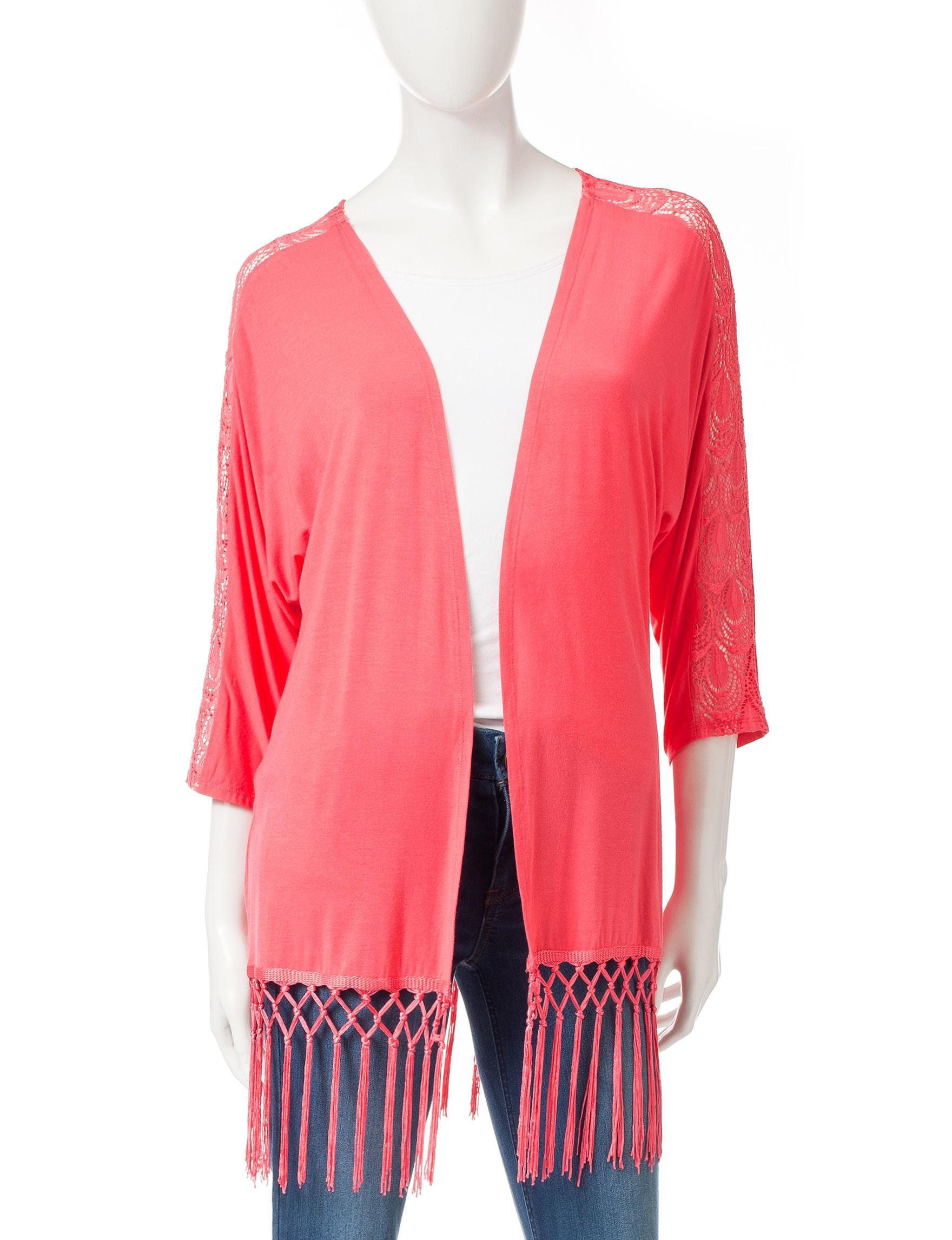 Pout Coral Shirts & Blouses