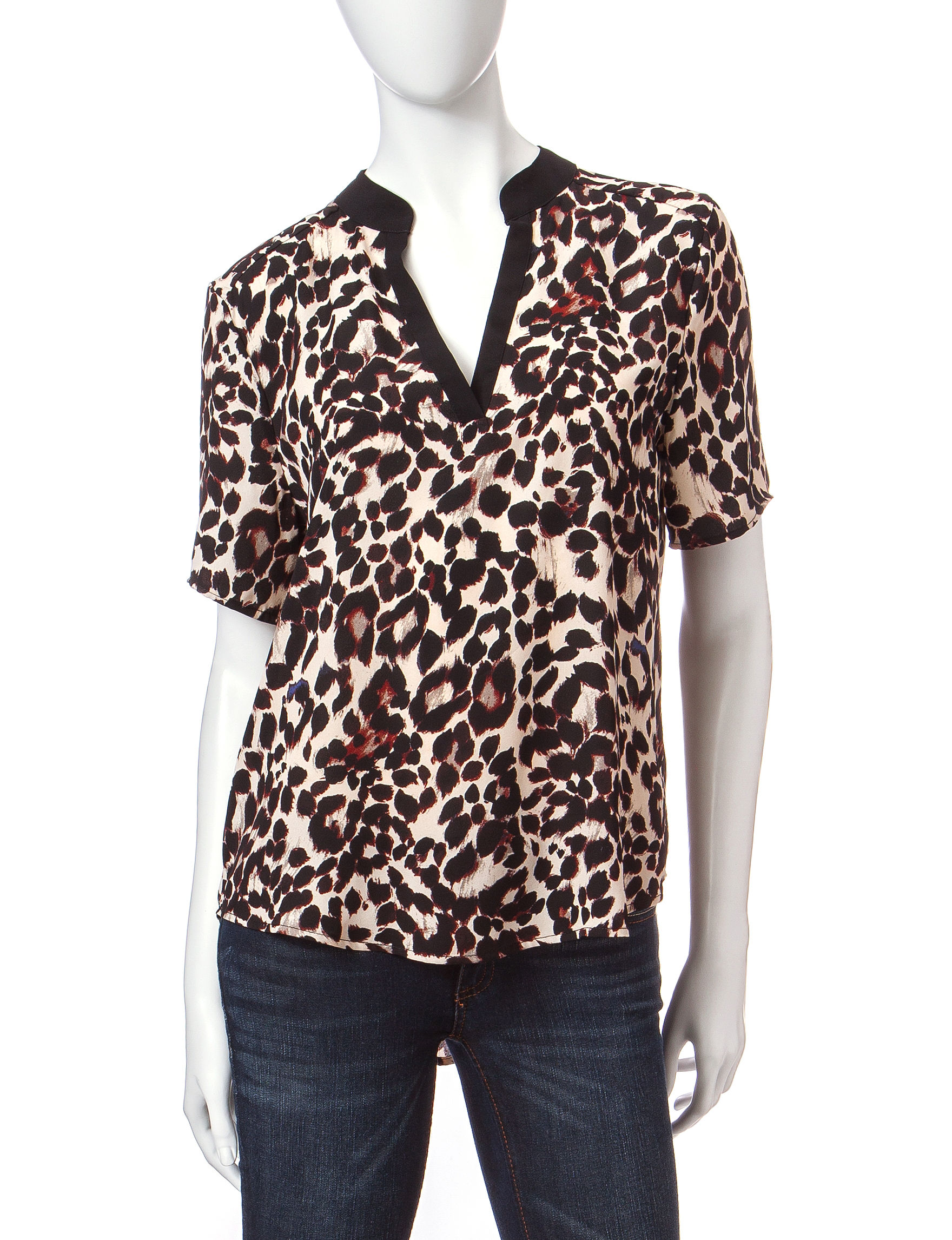 Wishful Park Cheetah Shirts & Blouses