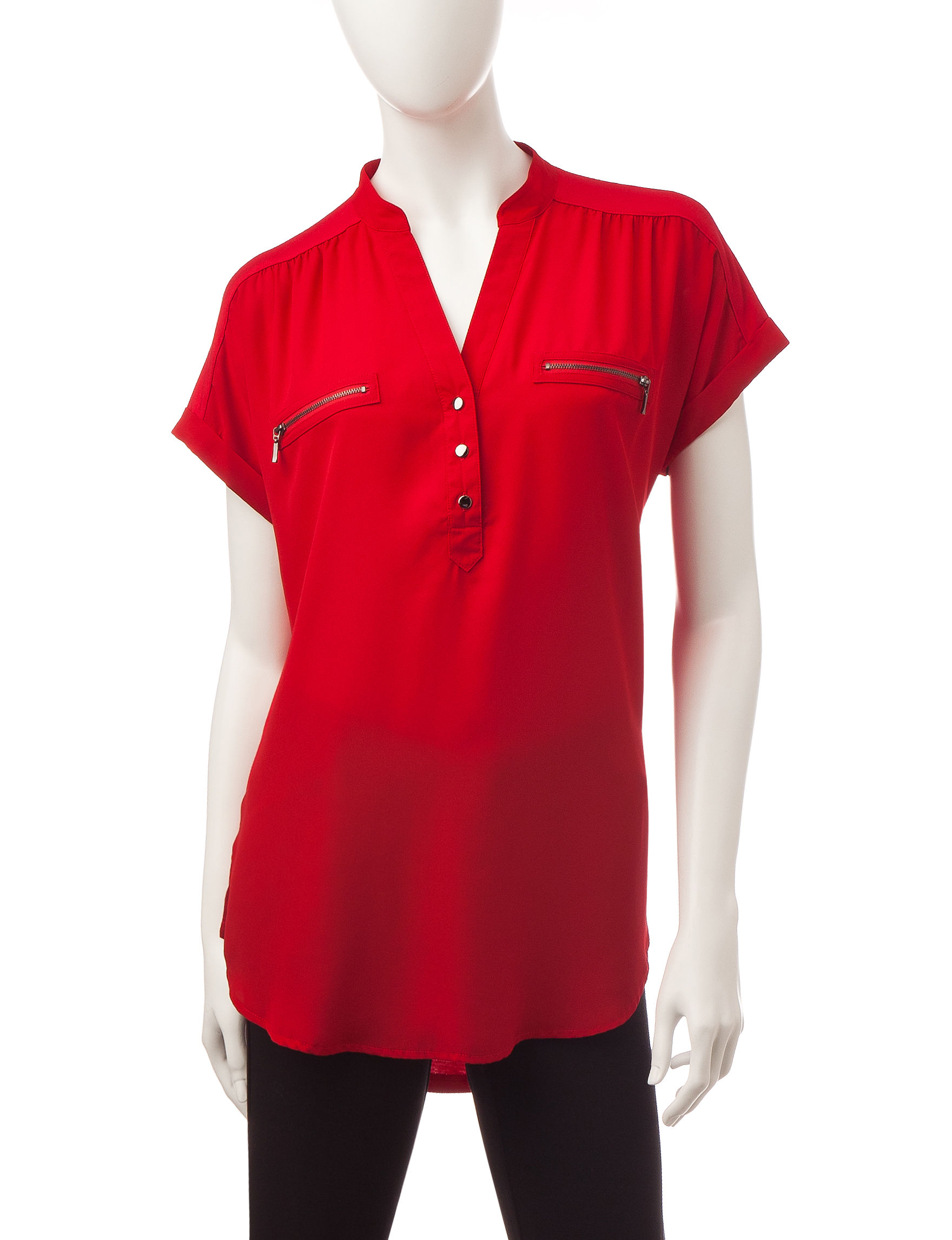 My Michelle Red Shirts & Blouses