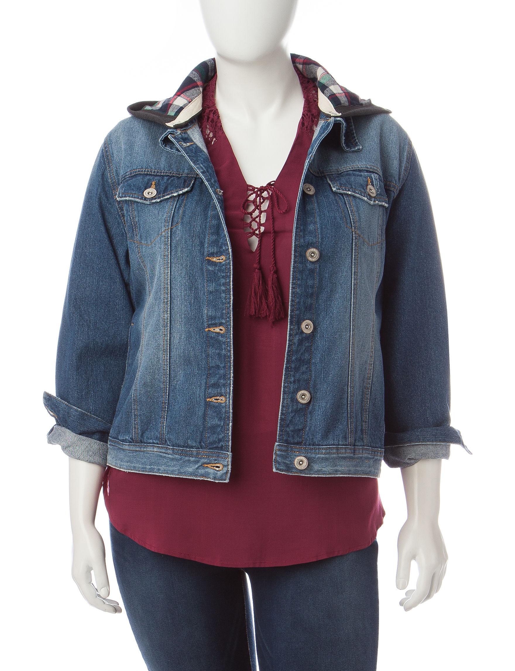 Amethyst Blue Denim Jackets